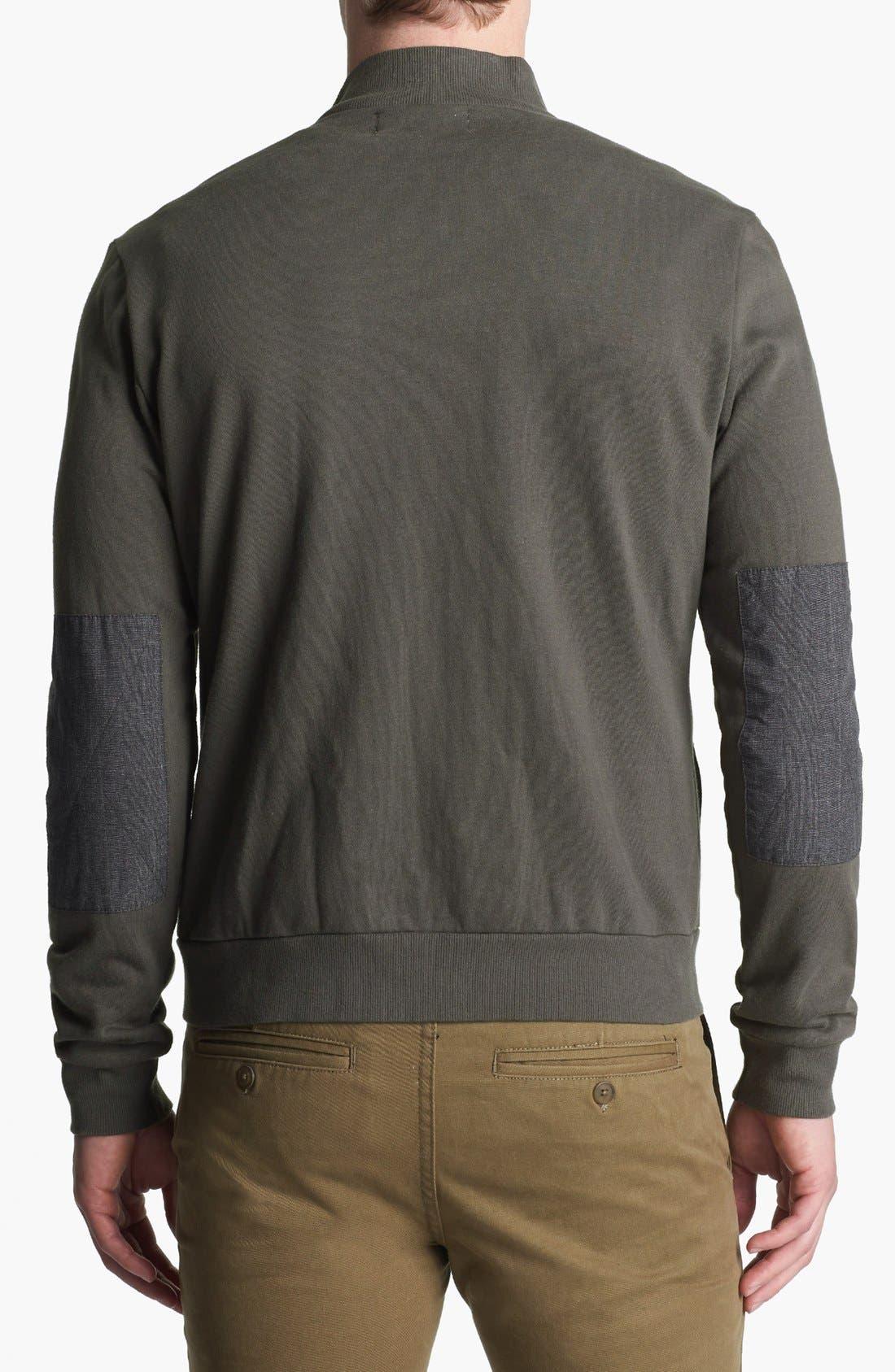 Alternate Image 2  - Original Penguin Knit Cotton Jacket