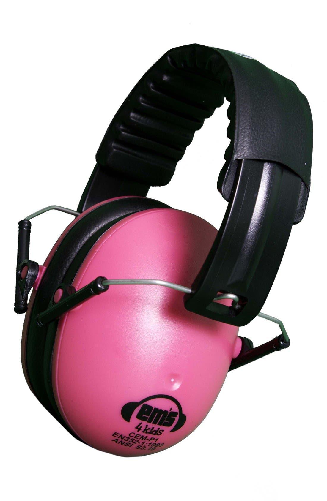 Main Image - Em's 4 Kids Noise Reducing Earmuffs (Toddler Girls)
