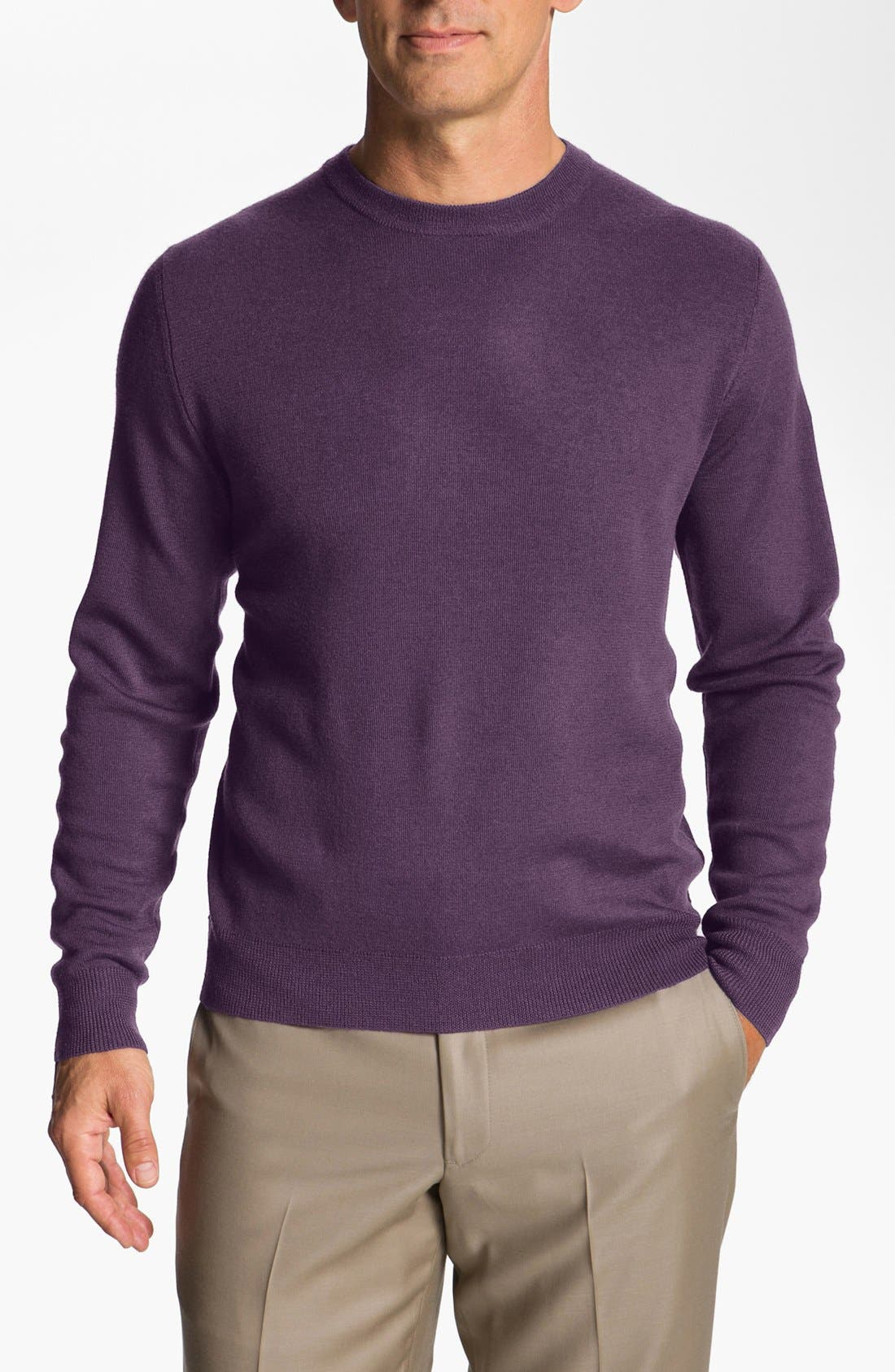 Alternate Image 1 Selected - Façonnable Merino Wool Sweater