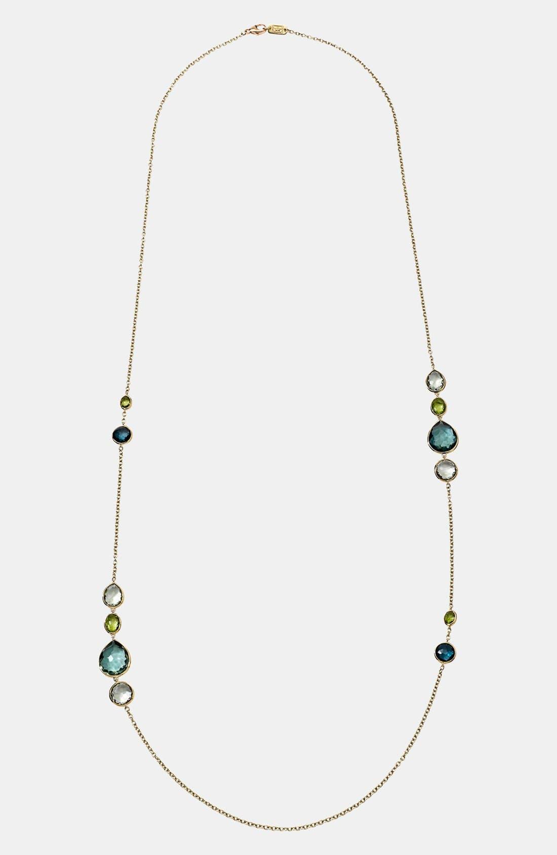 Alternate Image 2  - Ippolita 'Rock Candy - Gelato' 18k Gold Long Station Necklace