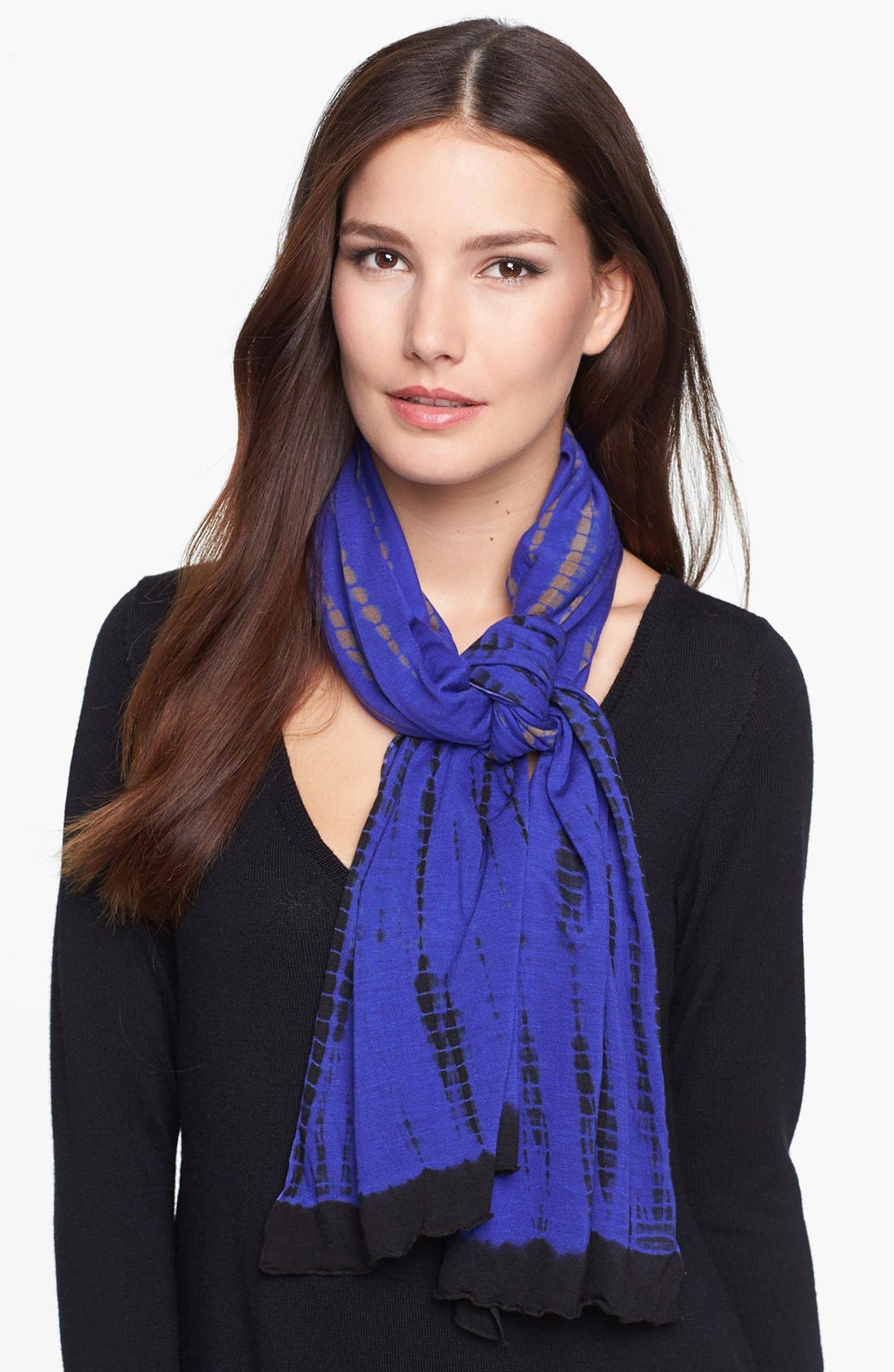Alternate Image 1 Selected - Eileen Fisher Print Scarf (Regular & Petite)