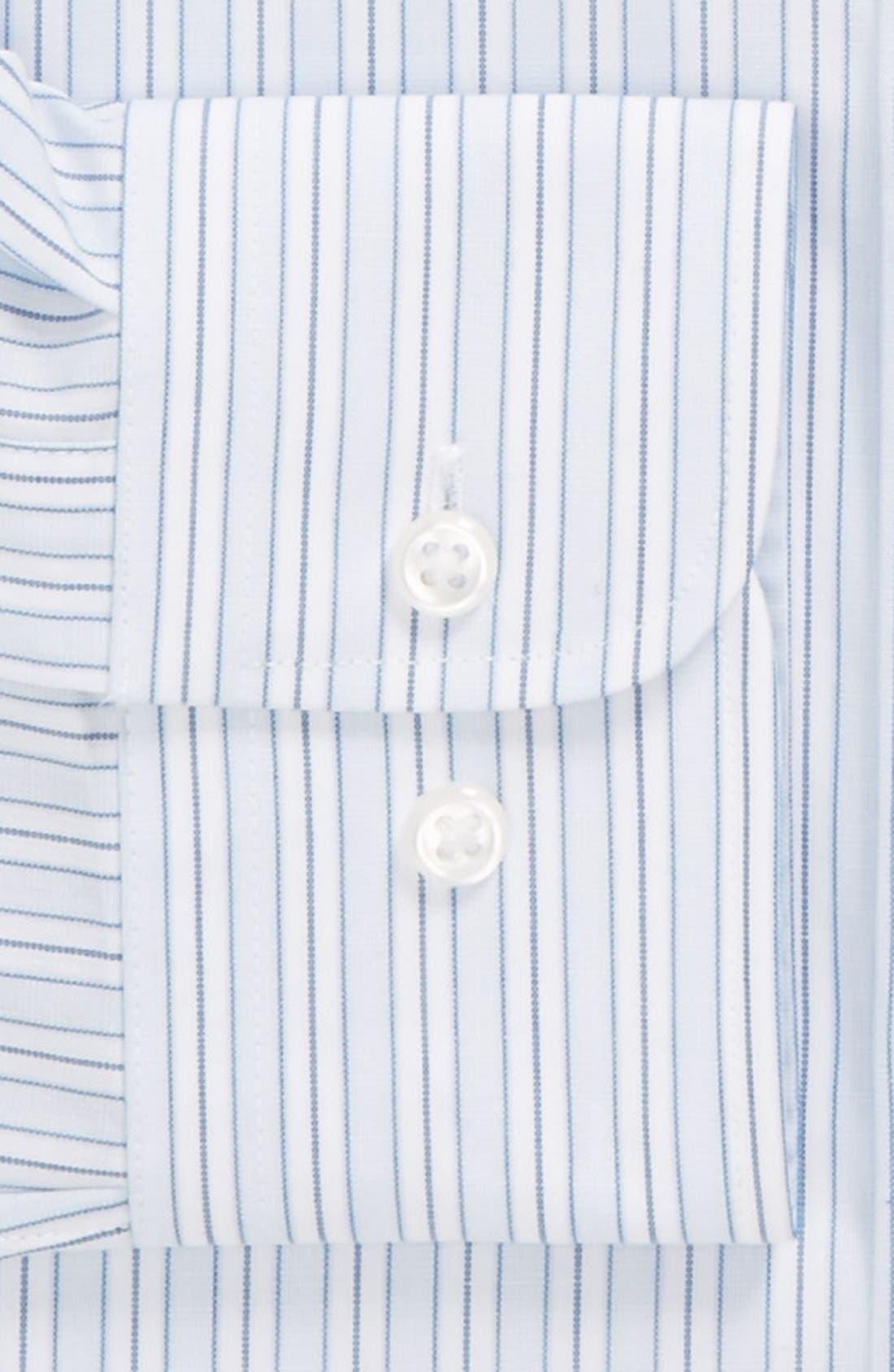 Alternate Image 2  - Nordstrom Trim Fit Non-Iron Dress Shirt