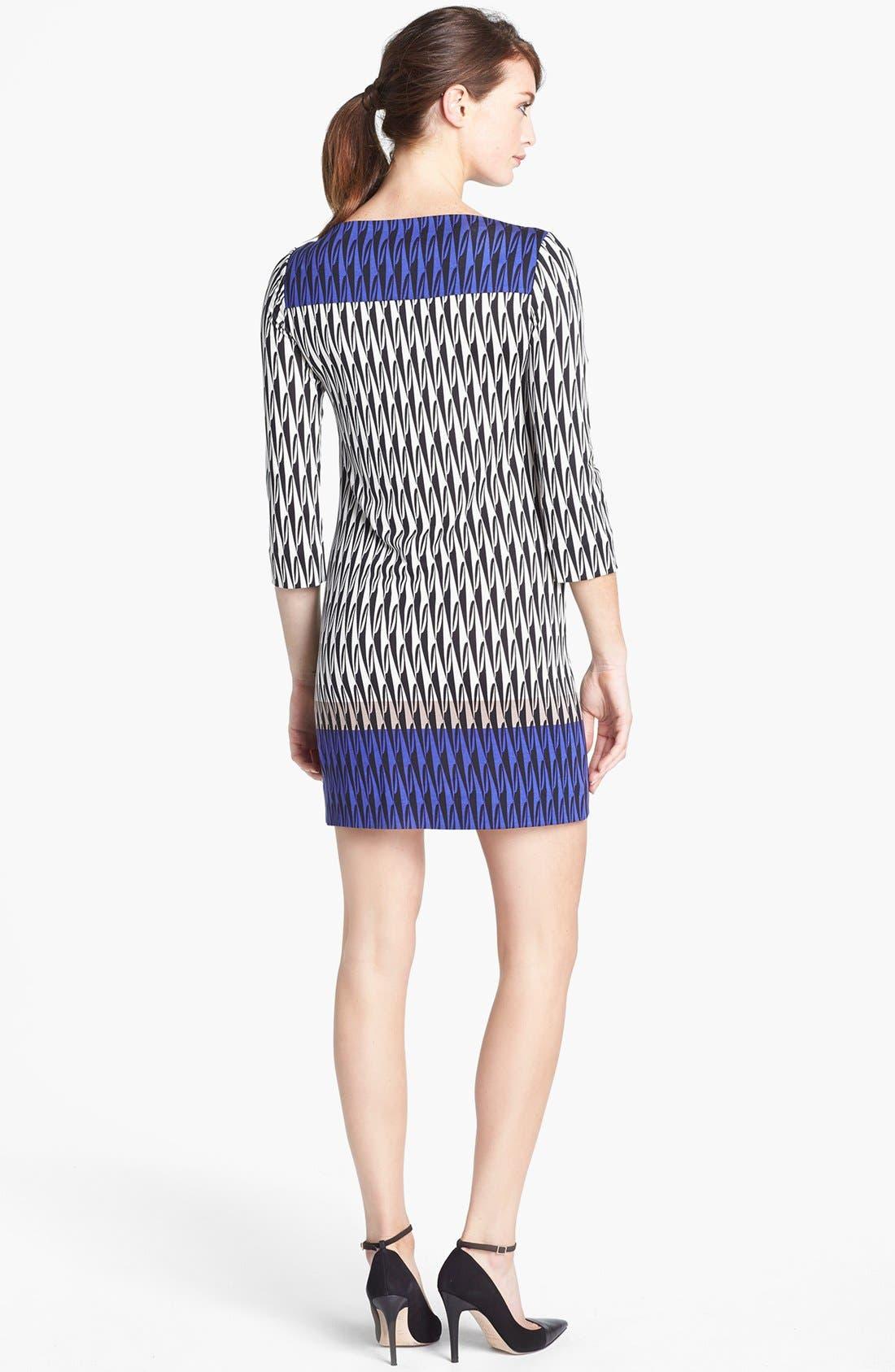 Alternate Image 2  - Diane von Furstenberg 'Ruri' Silk Shift Dress