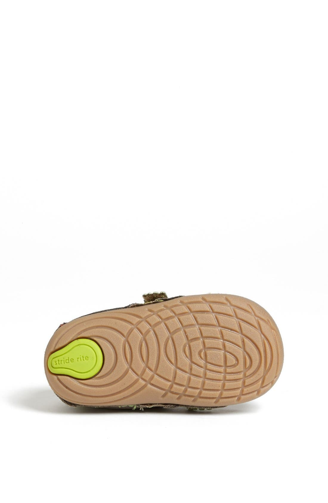Alternate Image 4  - Stride Rite 'Kermit' Sneaker (Baby & Walker)