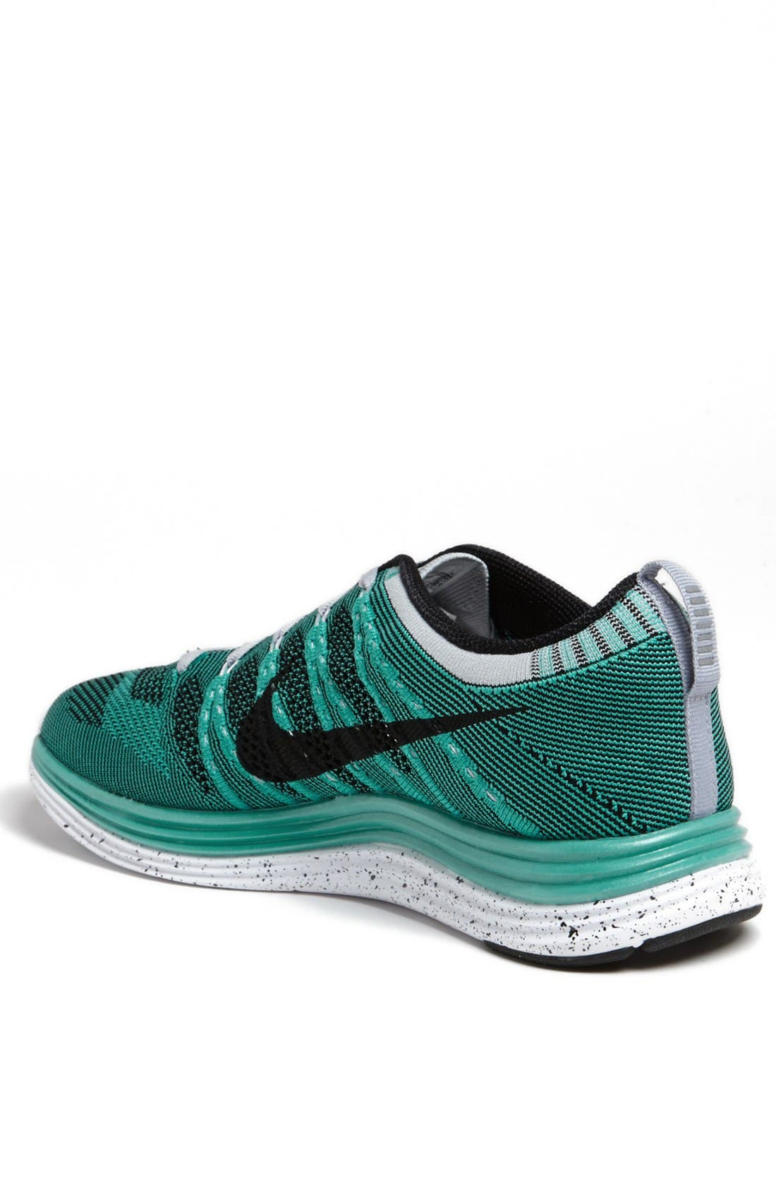 Alternate Image 2  - Nike 'Flyknit Lunar1+' Running Shoe (Men)