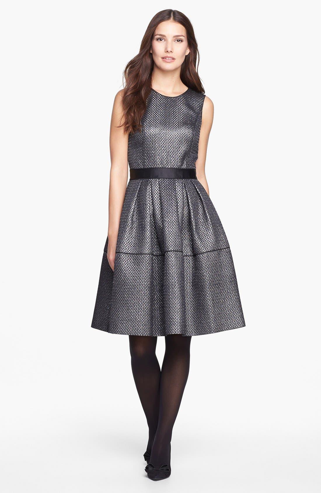 Main Image - Pink Tartan 'Carey' Dress