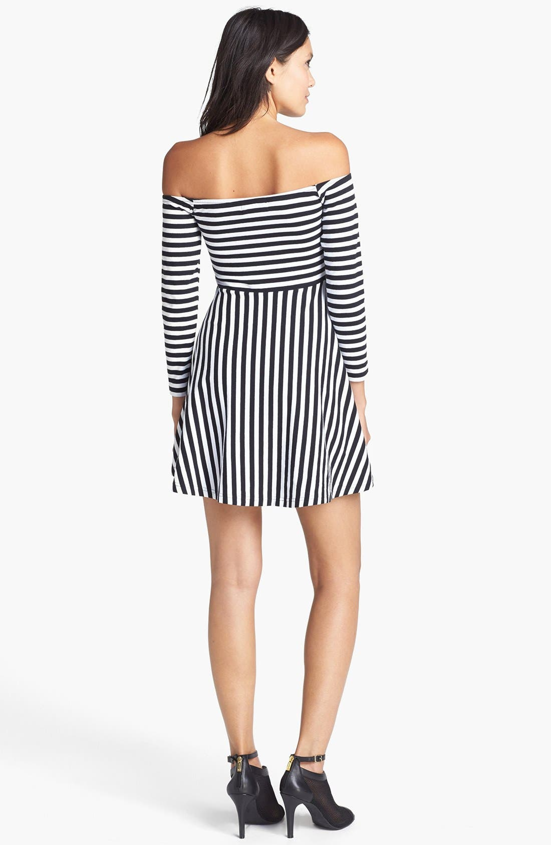Alternate Image 2  - MINKPINK Stripe Skater Dress