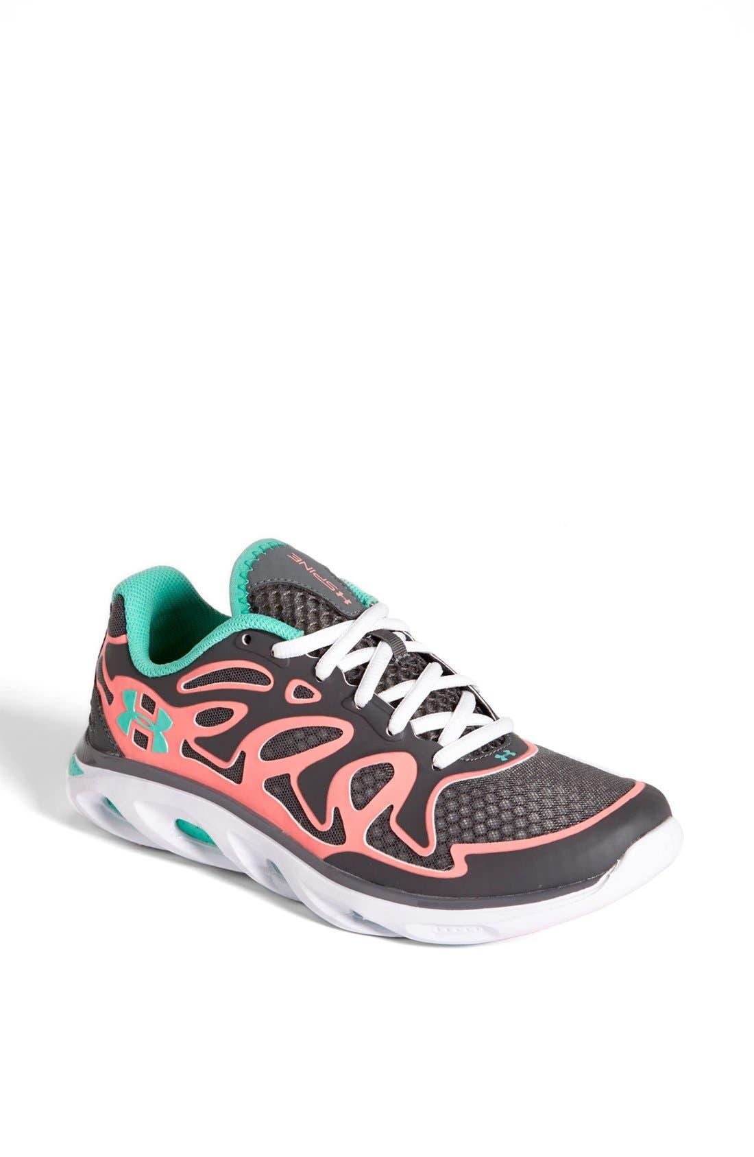 Alternate Image 1 Selected - Under Armour 'Spine™ Evo' Running Shoe (Women)