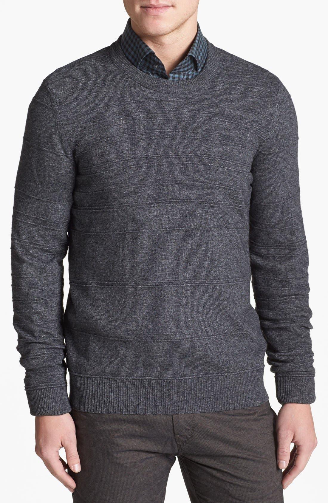 Alternate Image 1 Selected - BOSS HUGO BOSS 'Murphy' Stripe Sweater