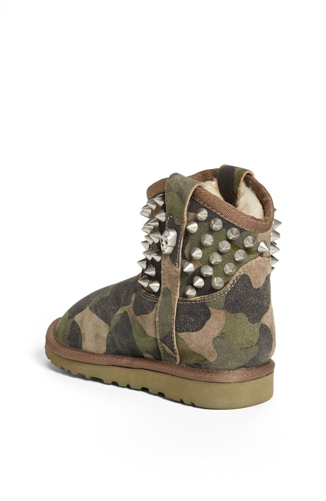 Alternate Image 2  - Ash 'You' Studded Camo Boot (Toddler, Little Kid & Big Kid)