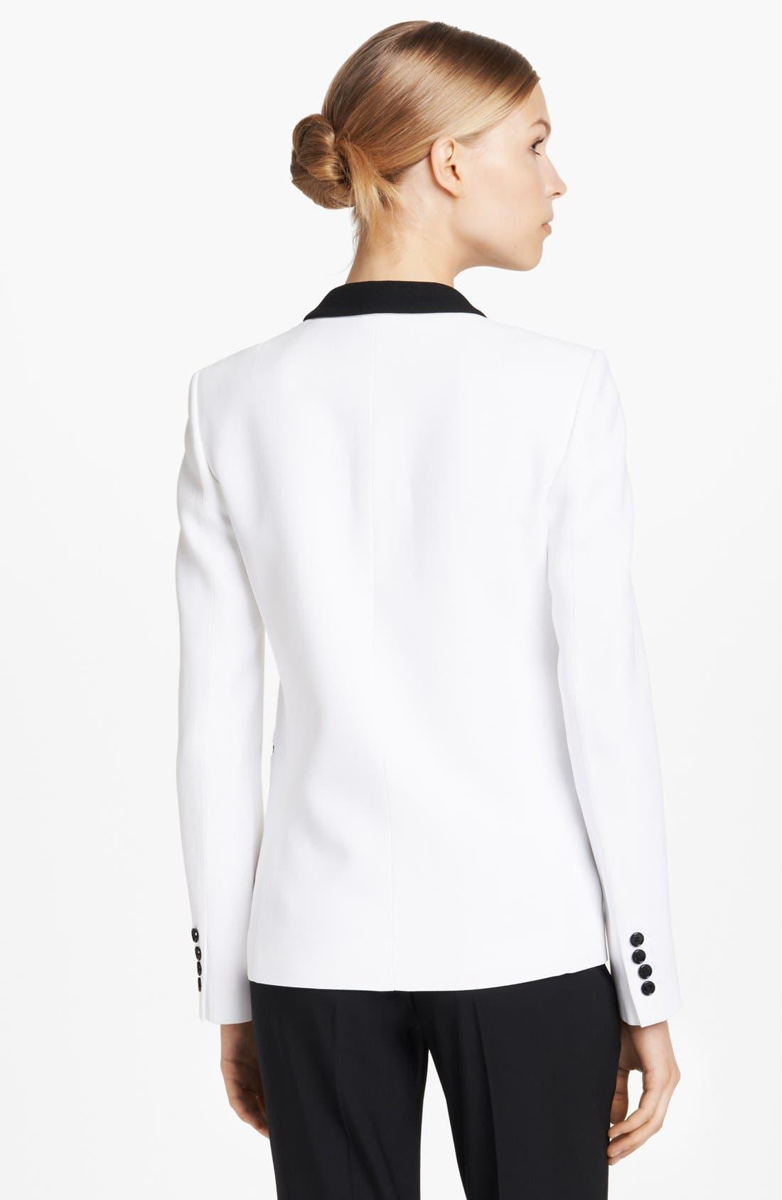 Alternate Image 2  - Michael Kors Double Crepe Tuxedo Jacket