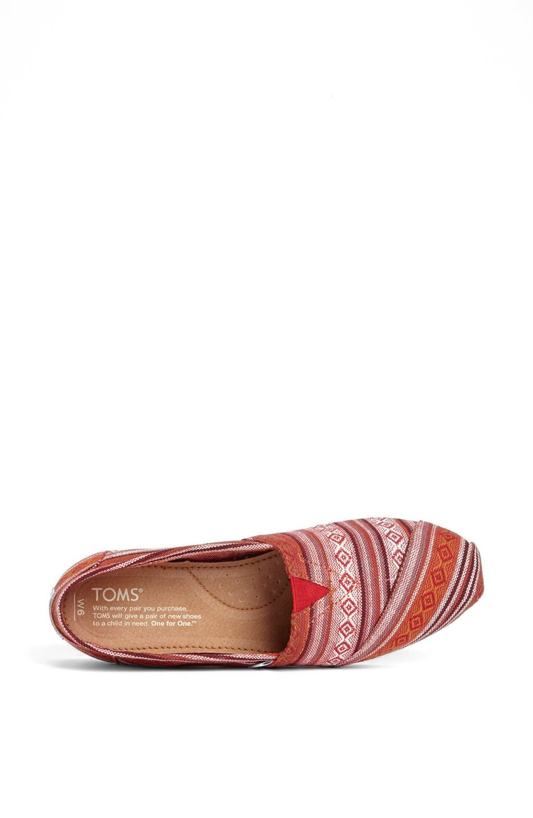 Alternate Image 3  - TOMS 'Seasonal Classic - Nepal' Slip-On (Women)