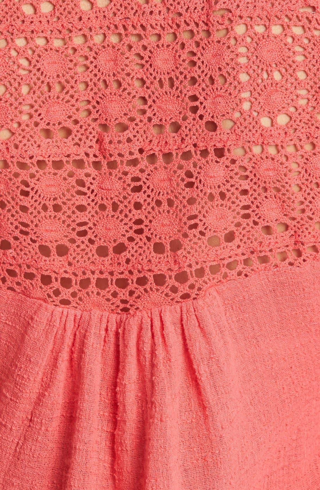Alternate Image 3  - Surf Gypsy Crochet Top
