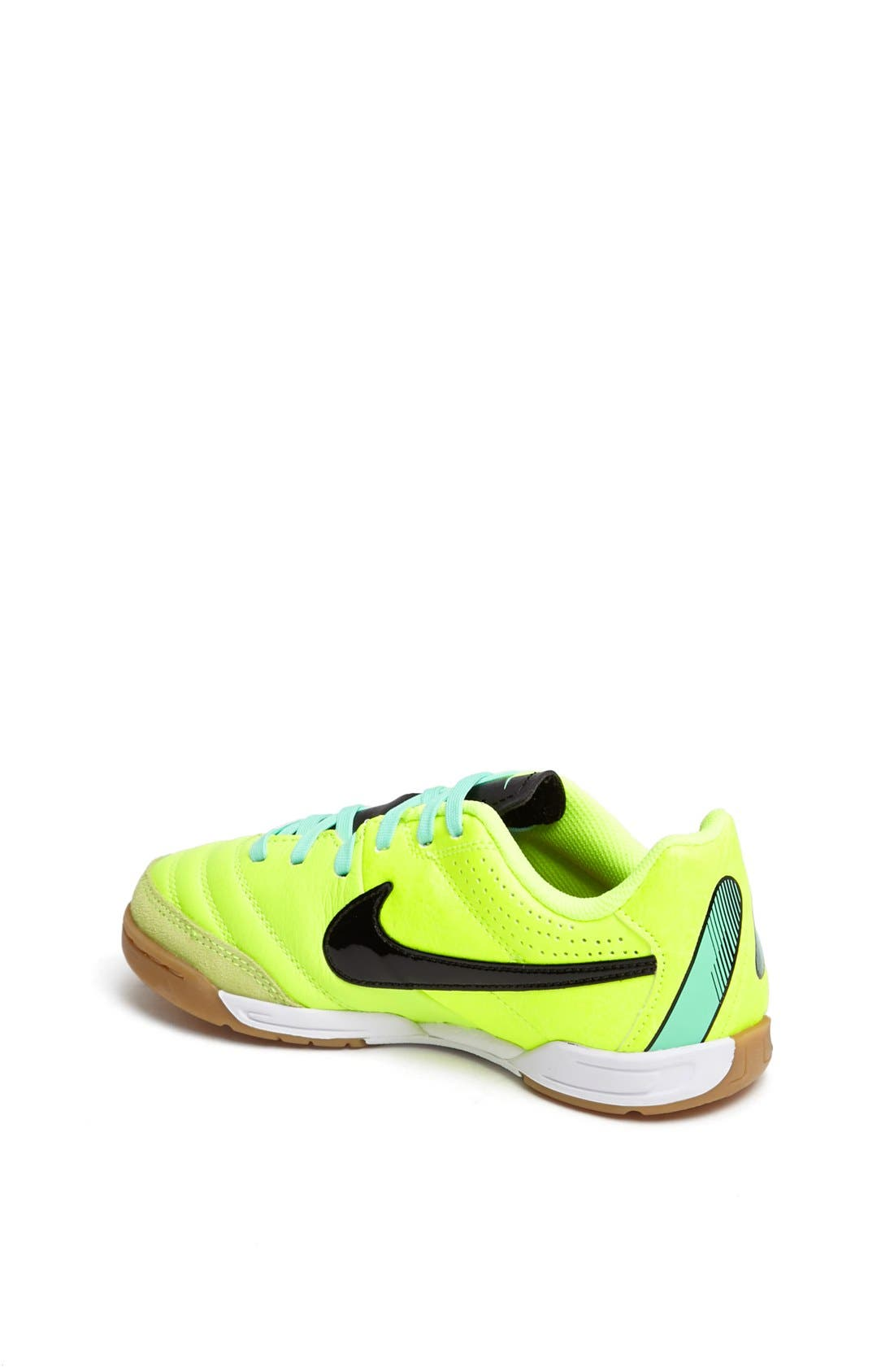 Alternate Image 2  - Nike 'Jr. Tiempo Natural IV' Soccer Shoe (Toddler, Little Kid & Big Kid)