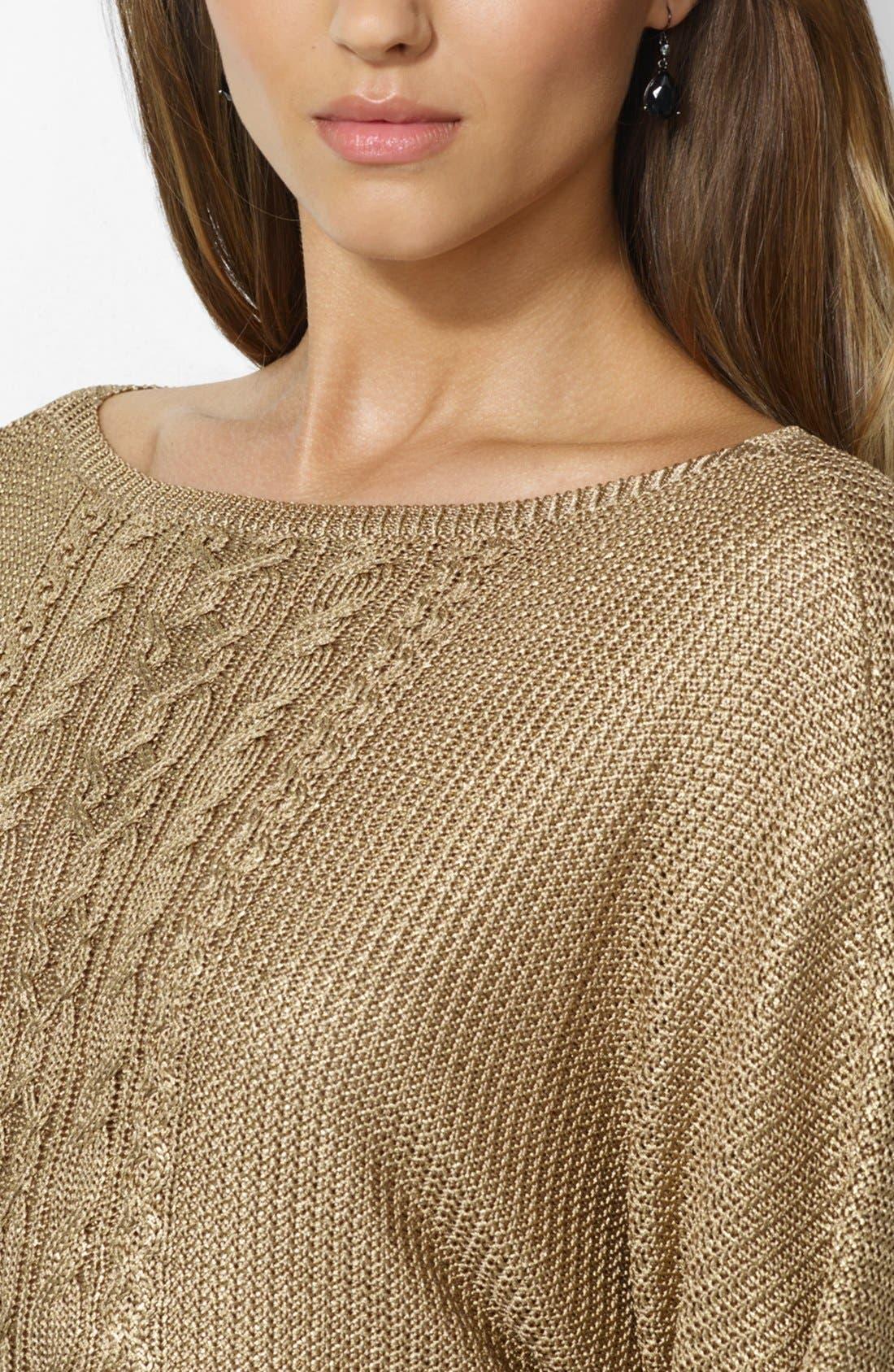Alternate Image 3  - Lauren Ralph Lauren Bateau Neck Sweater