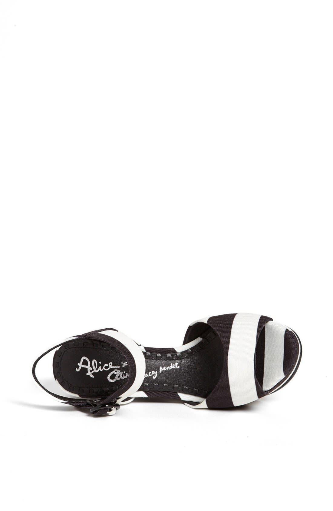 Alternate Image 3  - Alice + Olivia 'Jana' Wedge Sandal (Online Only)