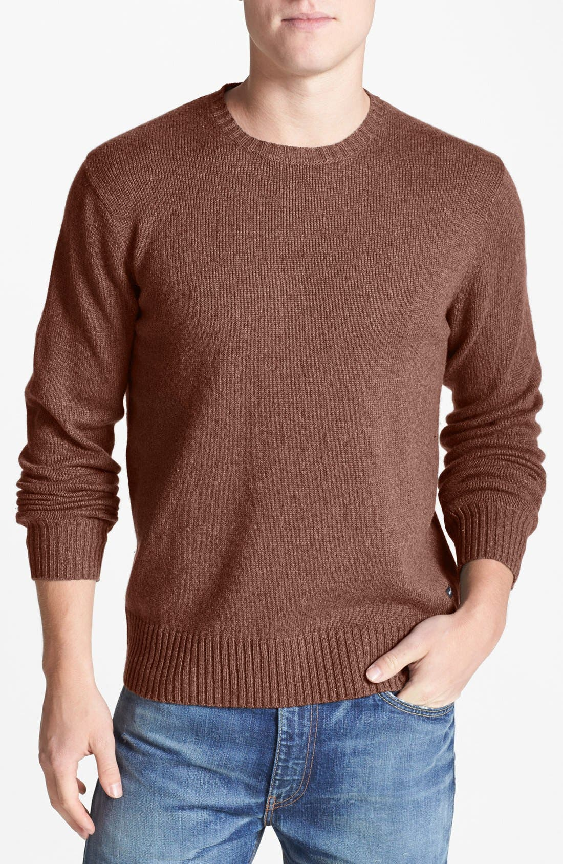 Alternate Image 1 Selected - RVCA 'Briza' Crewneck Sweater