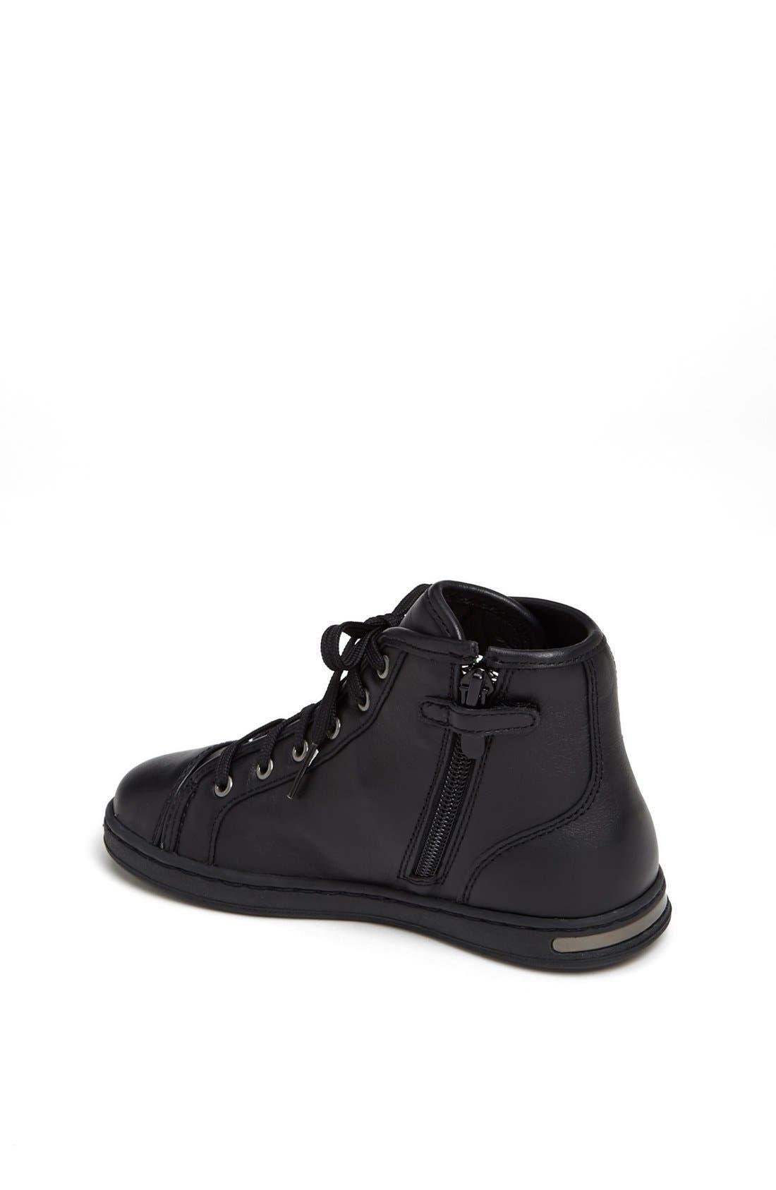 Alternate Image 2  - Dolce&Gabbana High Top Sneaker (Toddler & Little Kid)