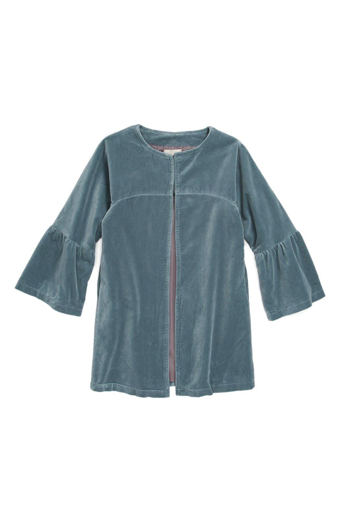 Alternate Image 1 Selected - Peek 'Florence' Coat (Toddler Girls, Little Girls & Big Girls)