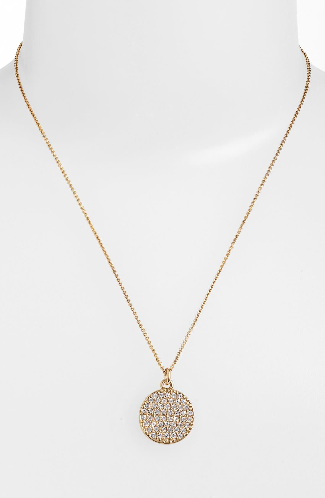Alternate Image 3  - kate spade new york 'idiom - all that glitters' boxed pavé pendant necklace