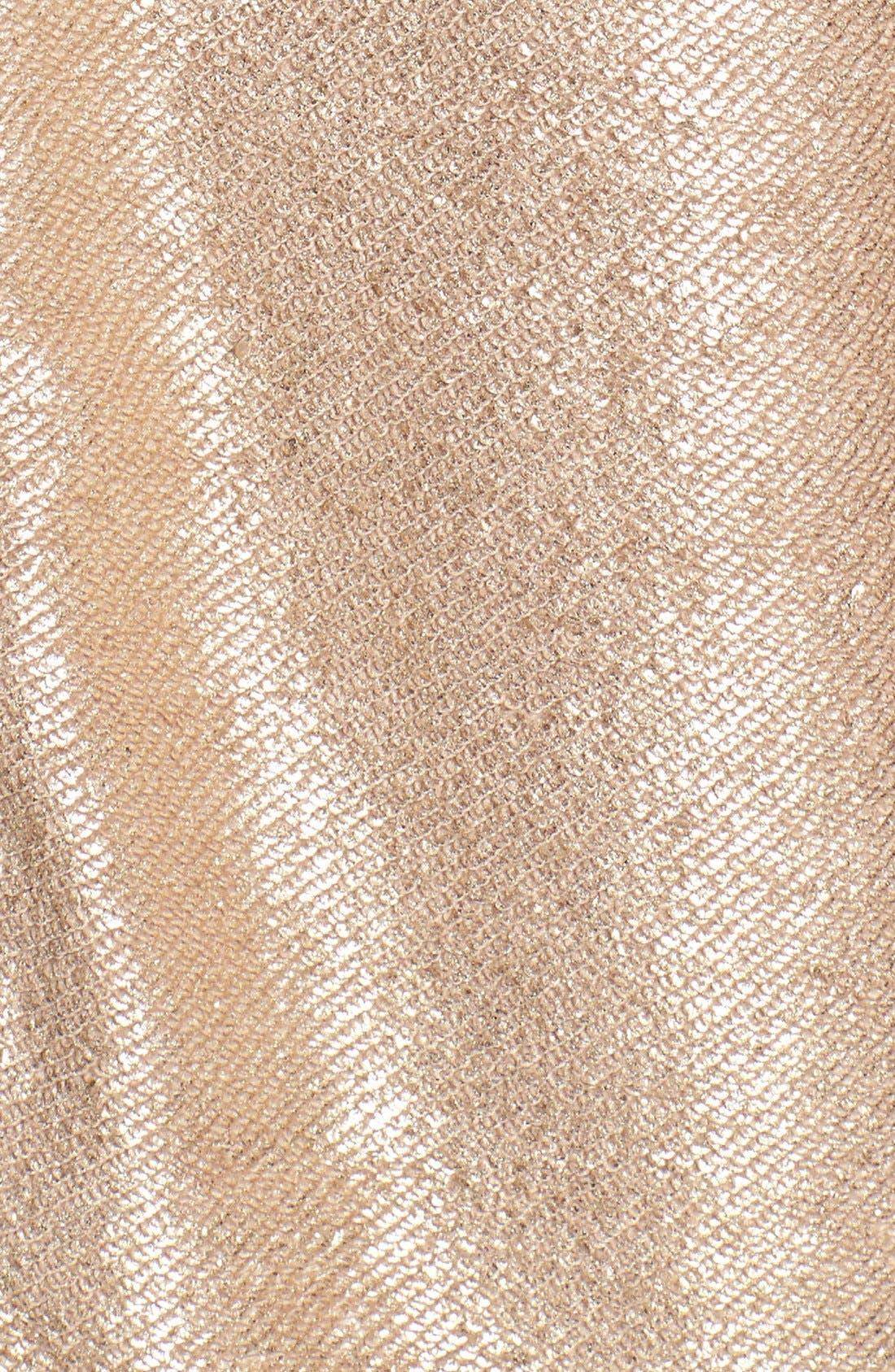 Alternate Image 3  - MICHAEL Michael Kors Foiled Cotton Terry Dress