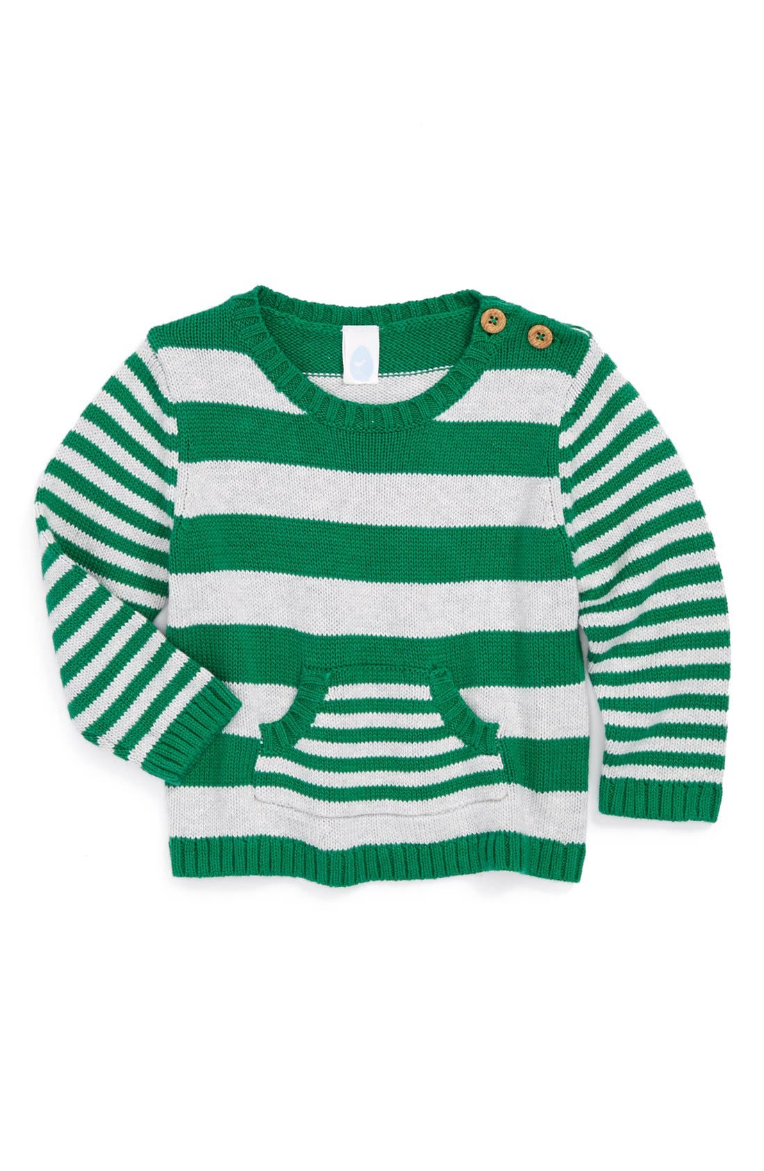Alternate Image 1 Selected - Stem Baby Organic Cotton Sweater (Baby Boys)