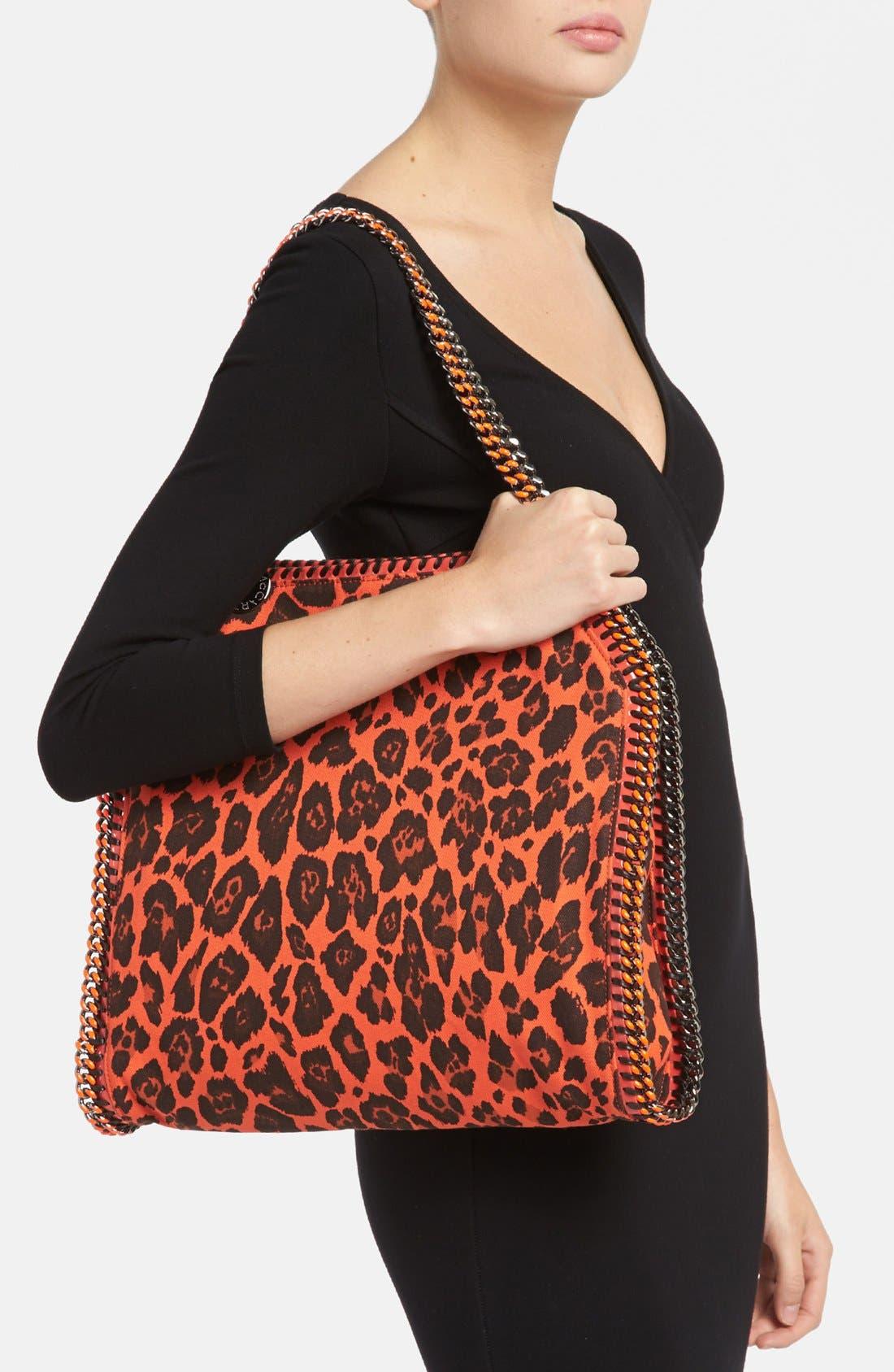 Alternate Image 2  - Stella McCartney 'Falabella -Small' Leopard Print Tote