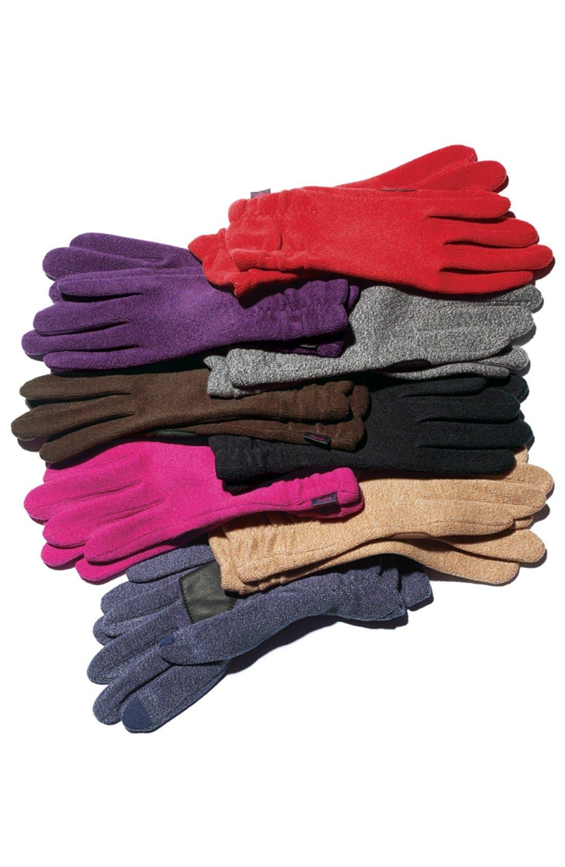 Alternate Image 2  - Echo Ruched Gloves