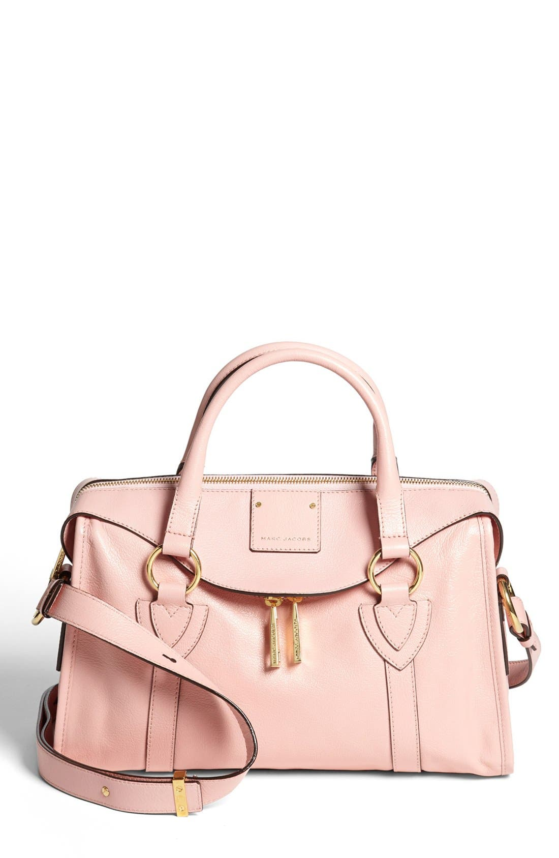Main Image - MARC JACOBS 'Small Wellington Fulton' Leather Satchel