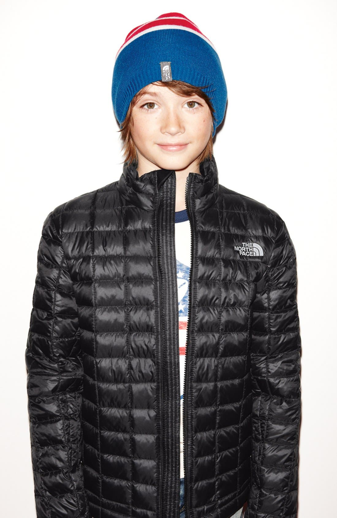 Main Image - The North Face Beanie & Jacket (Big Boys)