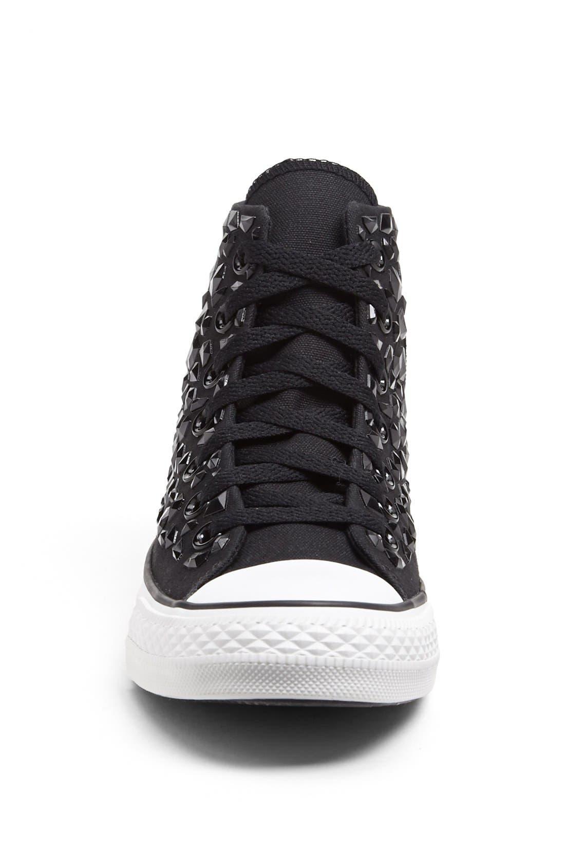Alternate Image 3  - Converse Chuck Taylor® All Star® 'Rhinestone' High Top Sneaker (Women)