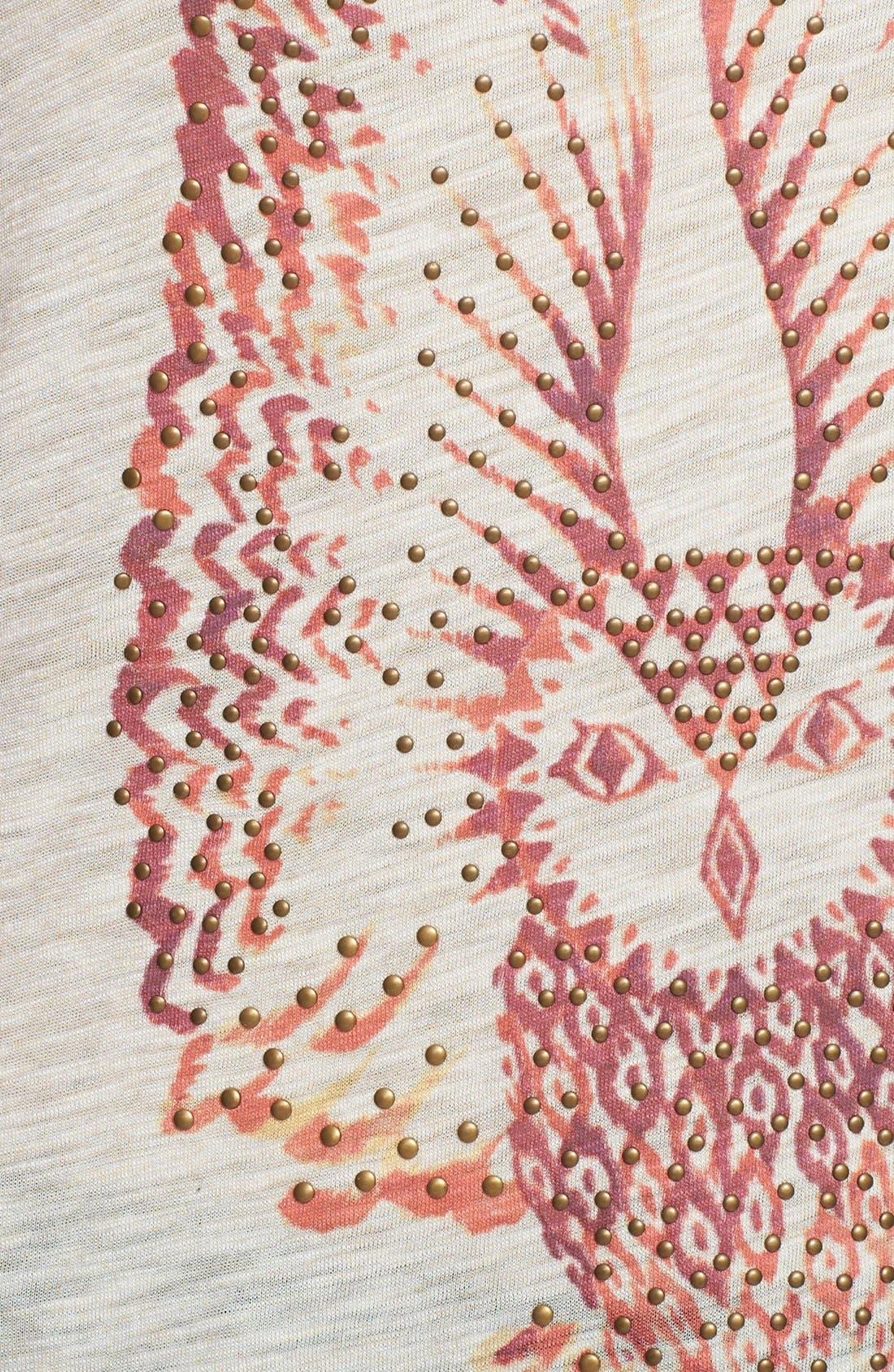 Alternate Image 3  - Lucky Brand Embellished Owl Tee