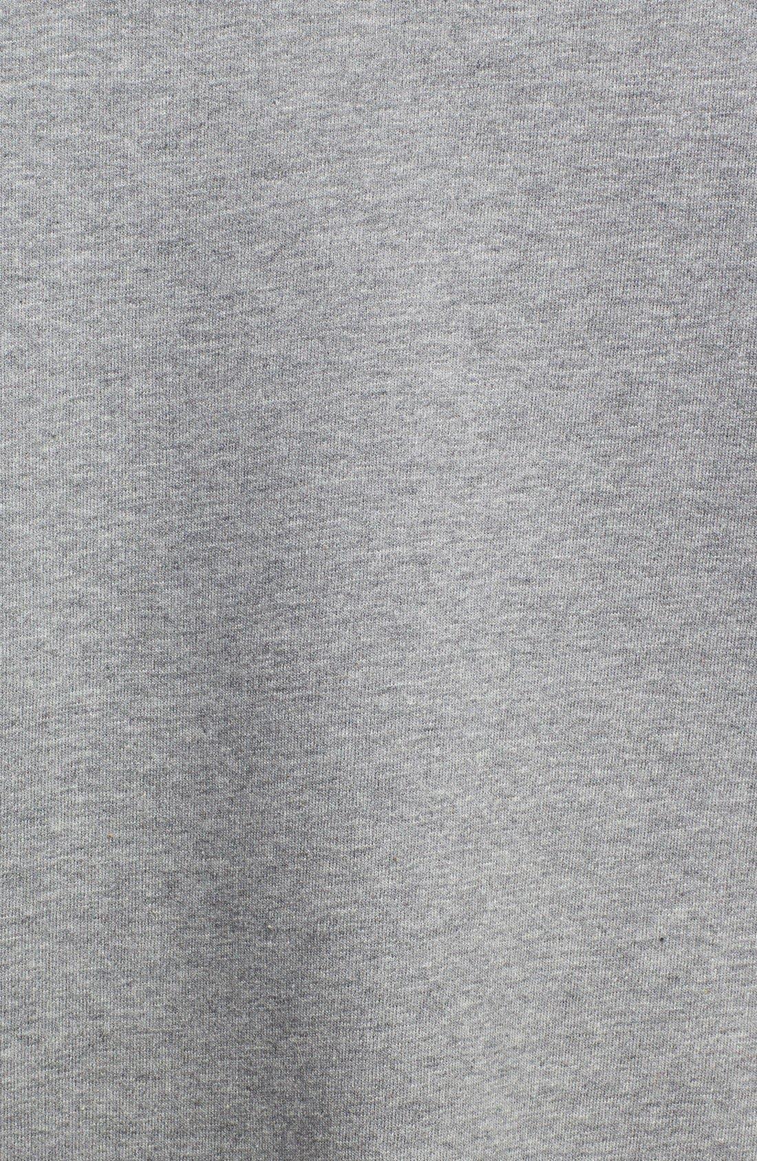 Alternate Image 3  - Two by Vince Camuto Embellished Raglan Sleeve Cotton Blend Sweatshirt