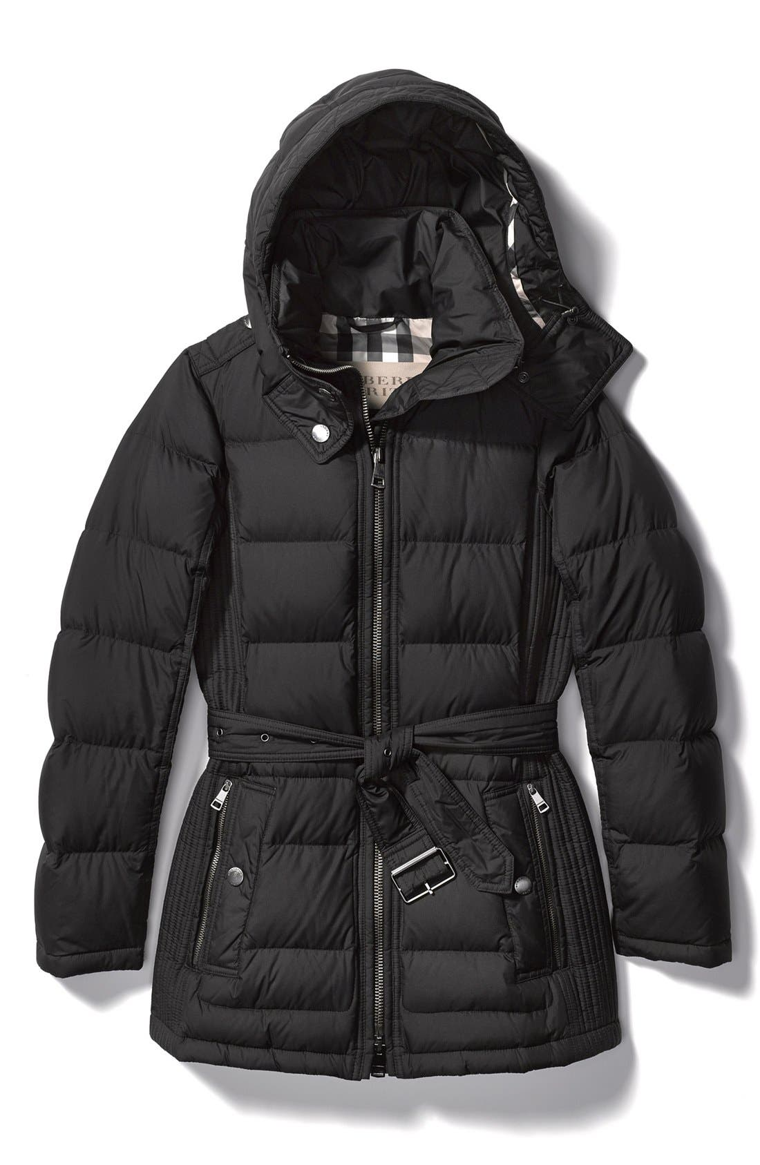 Alternate Image 4  - Burberry Brit 'Mareton' Quilted Down Jacket