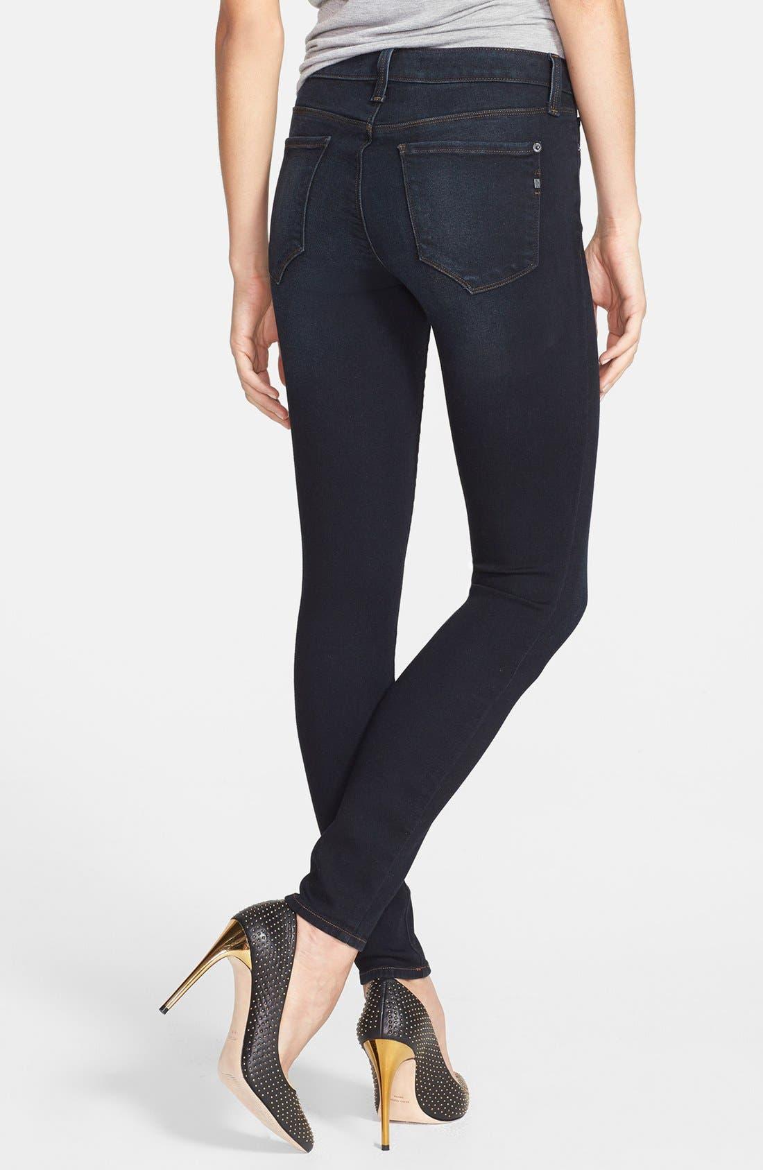 Alternate Image 2  - Genetic 'The Stem' Cigarette Skinny Jeans (Nomad)
