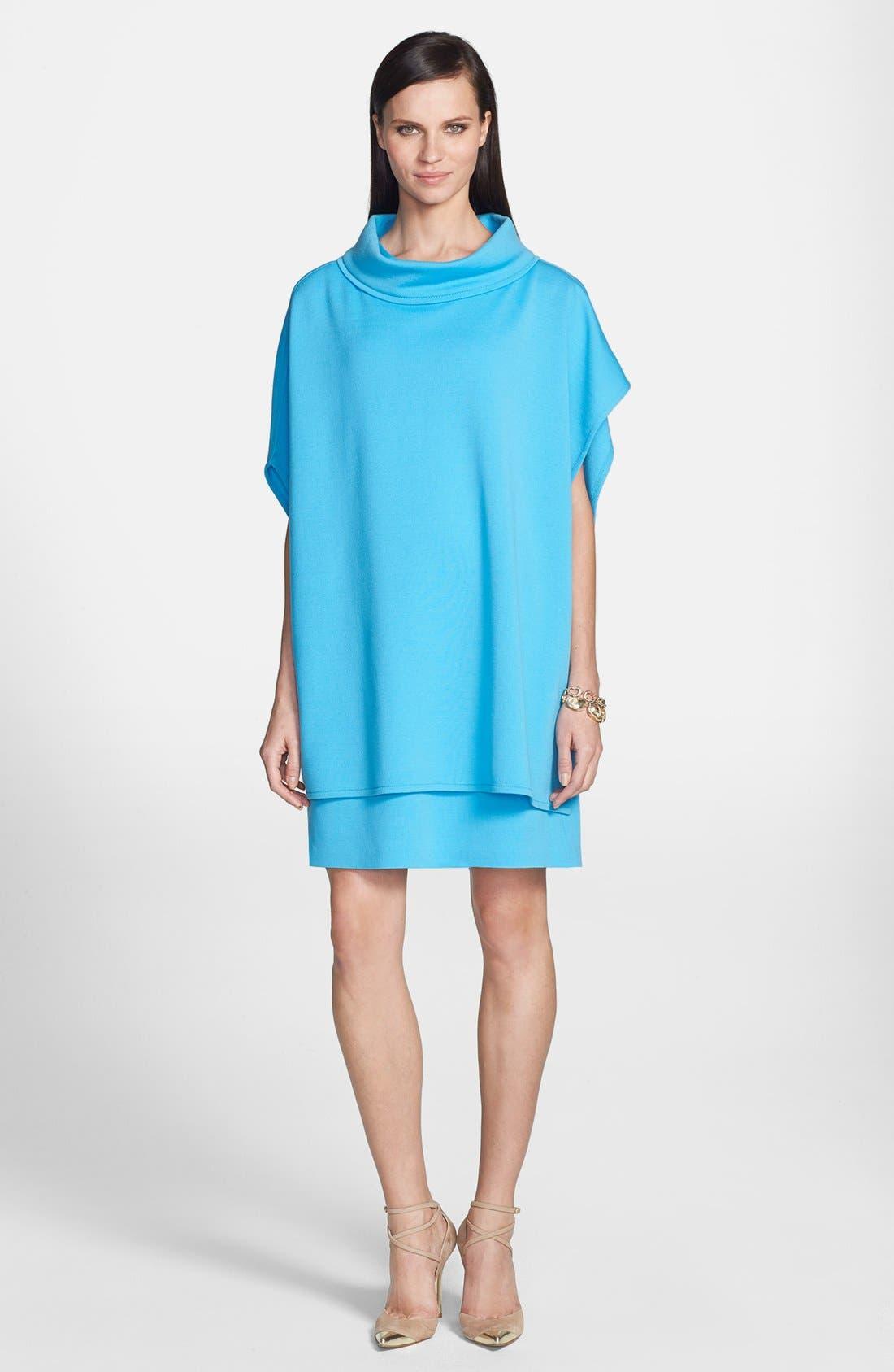Alternate Image 4  - St. John Collection Milano Knit Jewel Neck Trapeze Dress