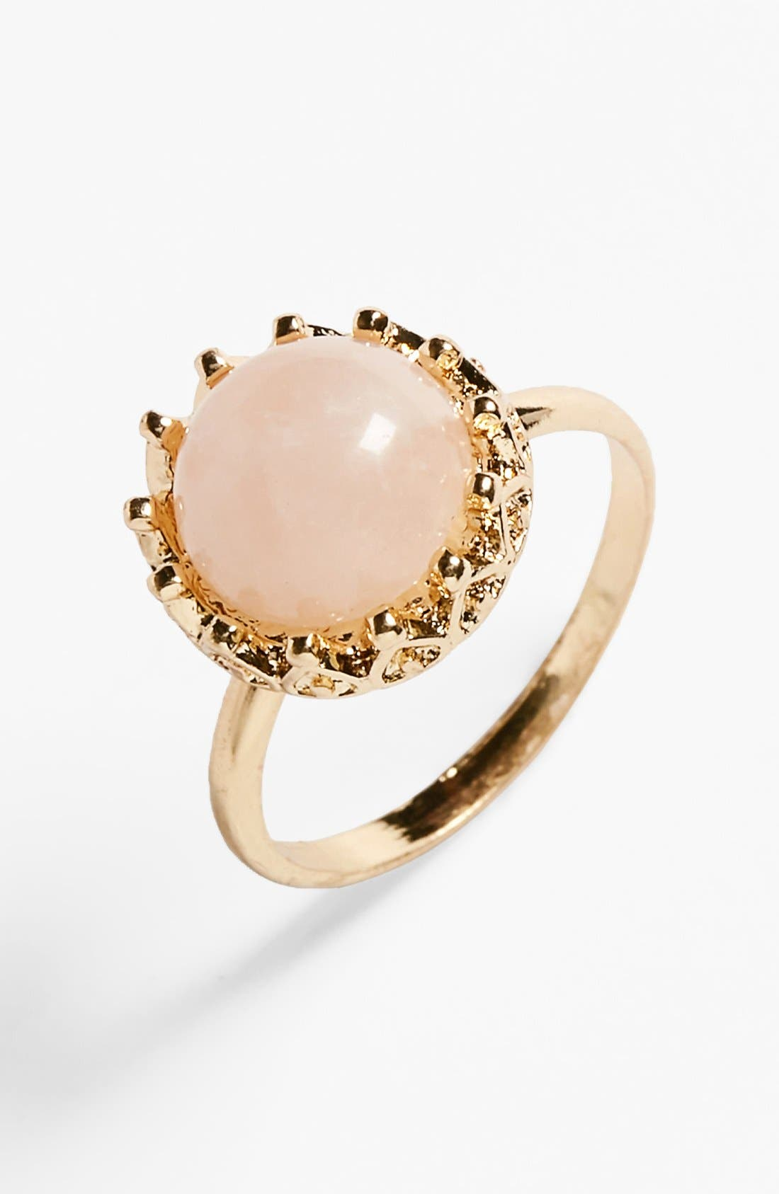 Alternate Image 1 Selected - BP. 'Crown Stone' Ring (Juniors)