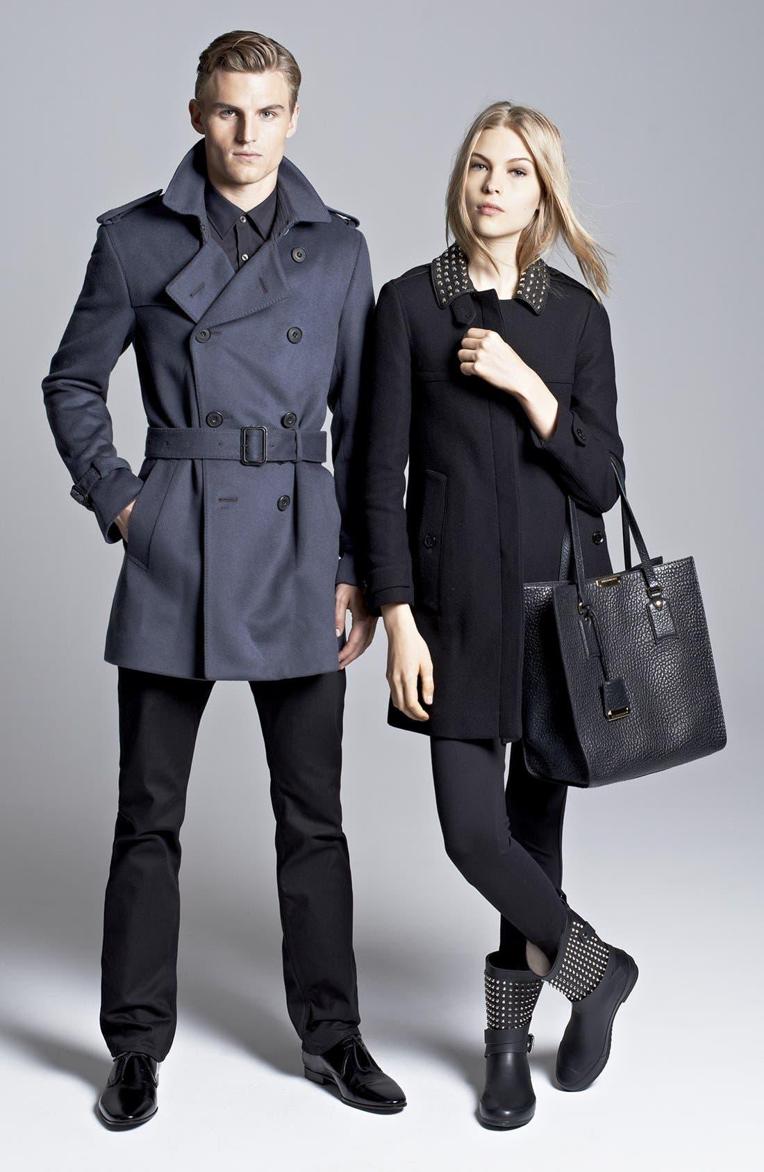 Alternate Image 4  - Burberry Brit 'Masondale' Wool Blend Coat