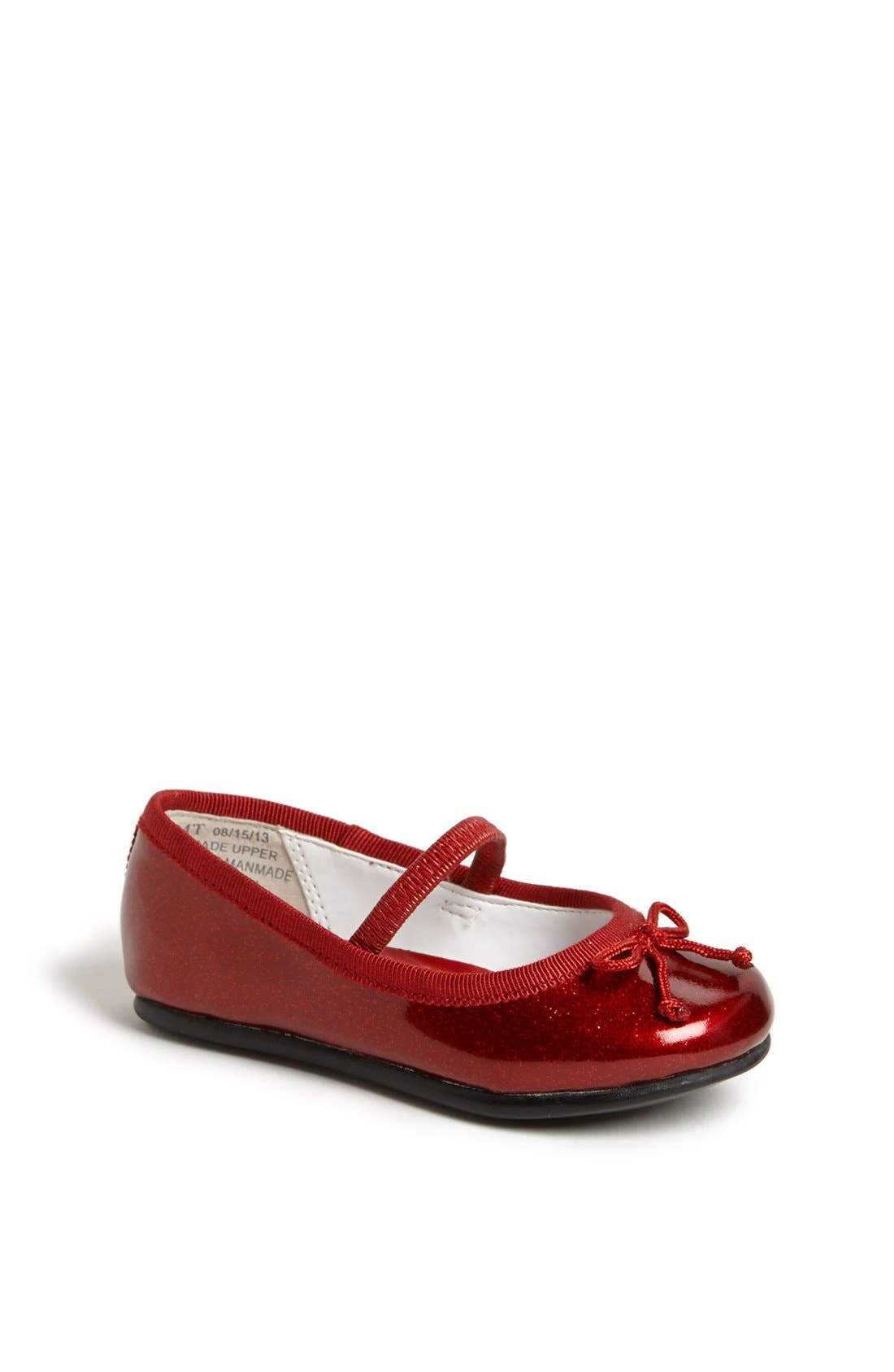 Alternate Image 1 Selected - Nordstrom 'Bella' Ballet Flat (Walker, Toddler, Little Kid & Big Kid)