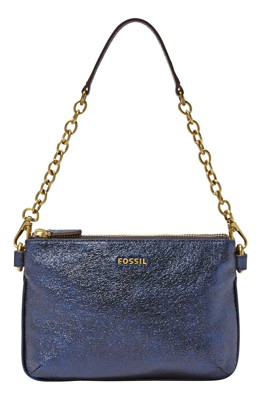 Alternate Image 1 Selected - Fossil 'Memoir' Leather Shoulder Bag