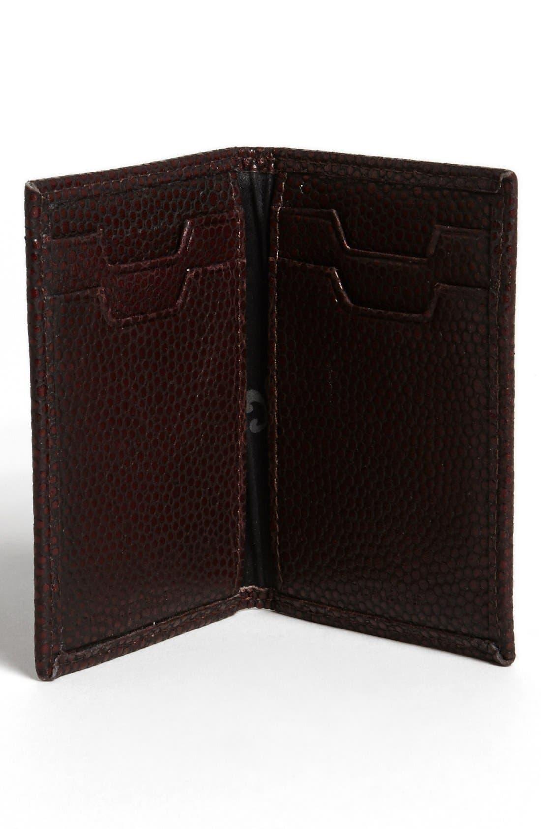 Alternate Image 2  - John Varvatos Collection Leather Card Case