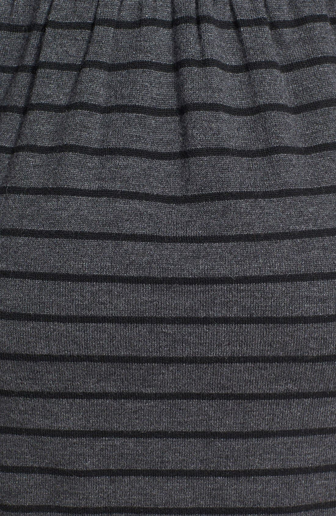 Alternate Image 3  - Laundry by Shelli Segal Stripe Wool Sweater Dress (Petite)