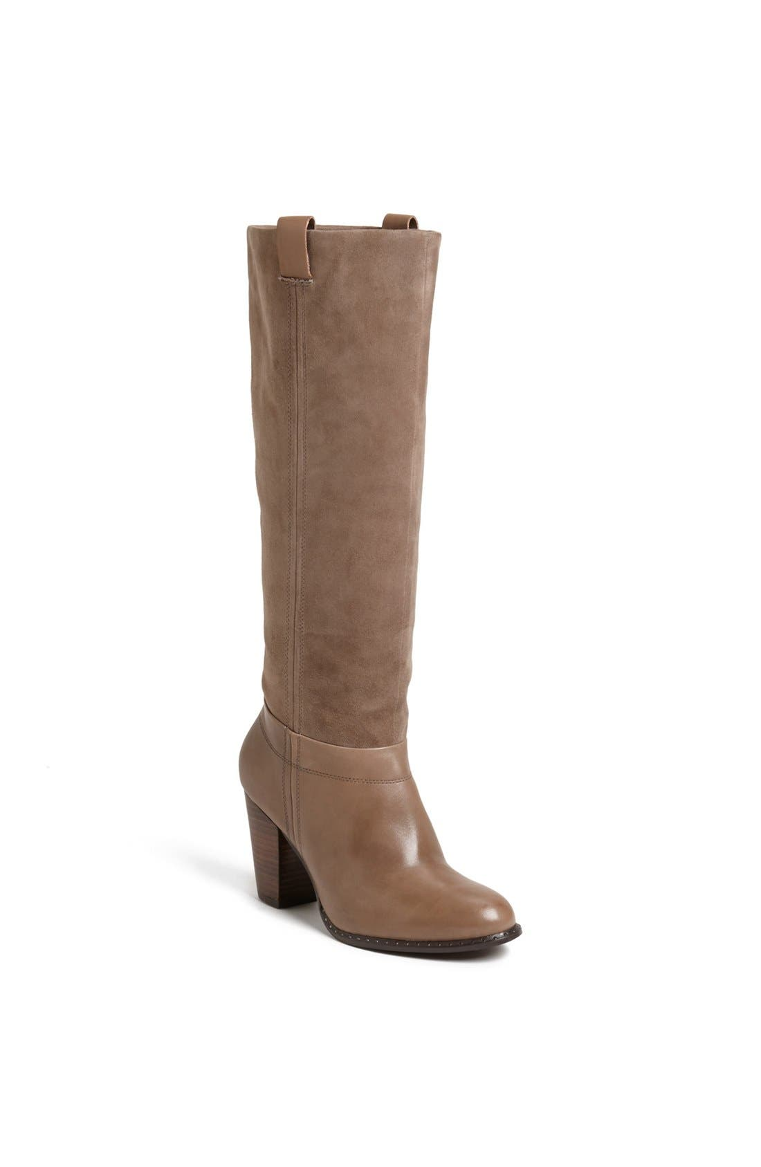 Alternate Image 1 Selected - Splendid 'Fairview' Suede & Leather Boot