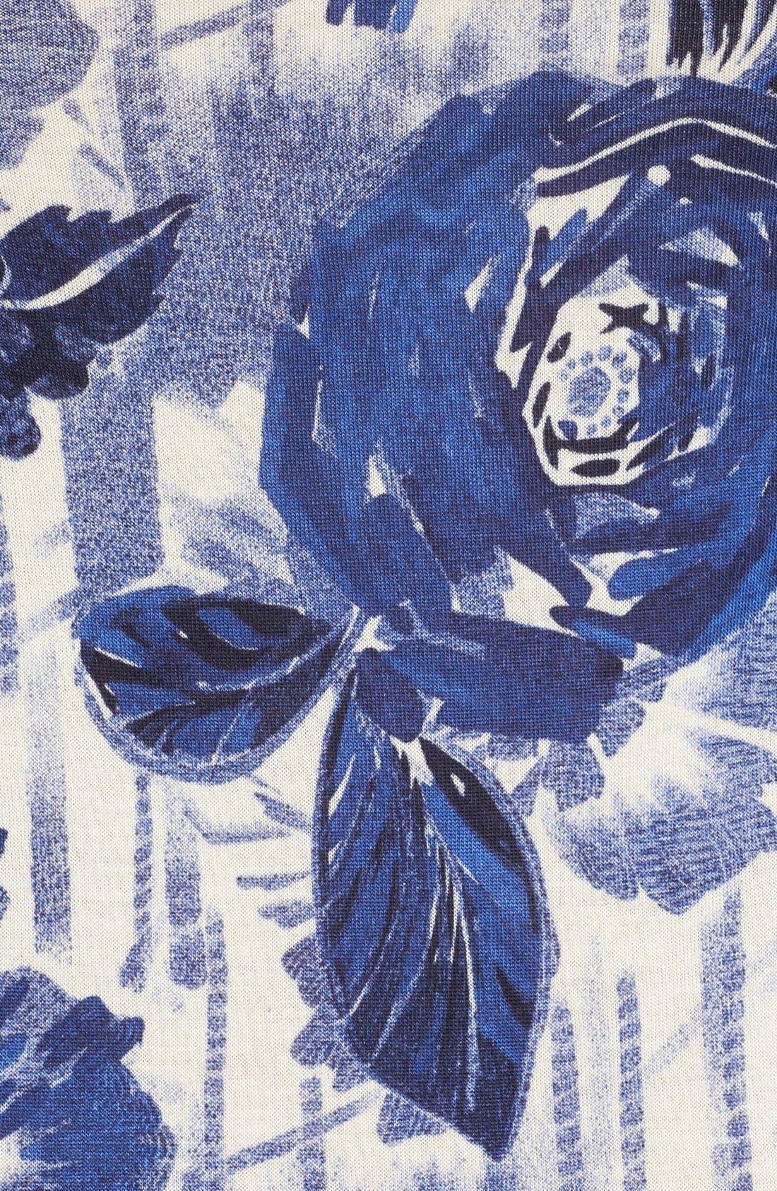 Alternate Image 3  - Jean Paul Gaultier Rose Print Jersey Tank Dress