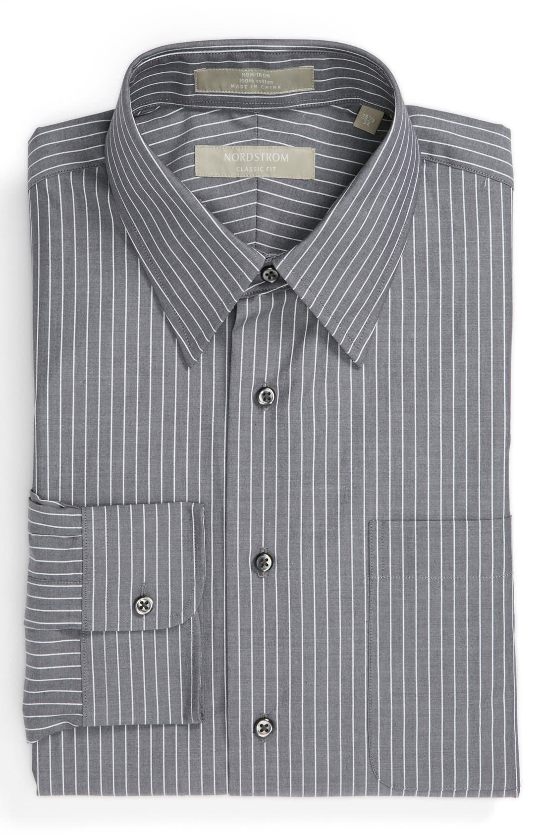 Alternate Image 1 Selected - Nordstrom Classic Fit Non-Iron Dress Shirt