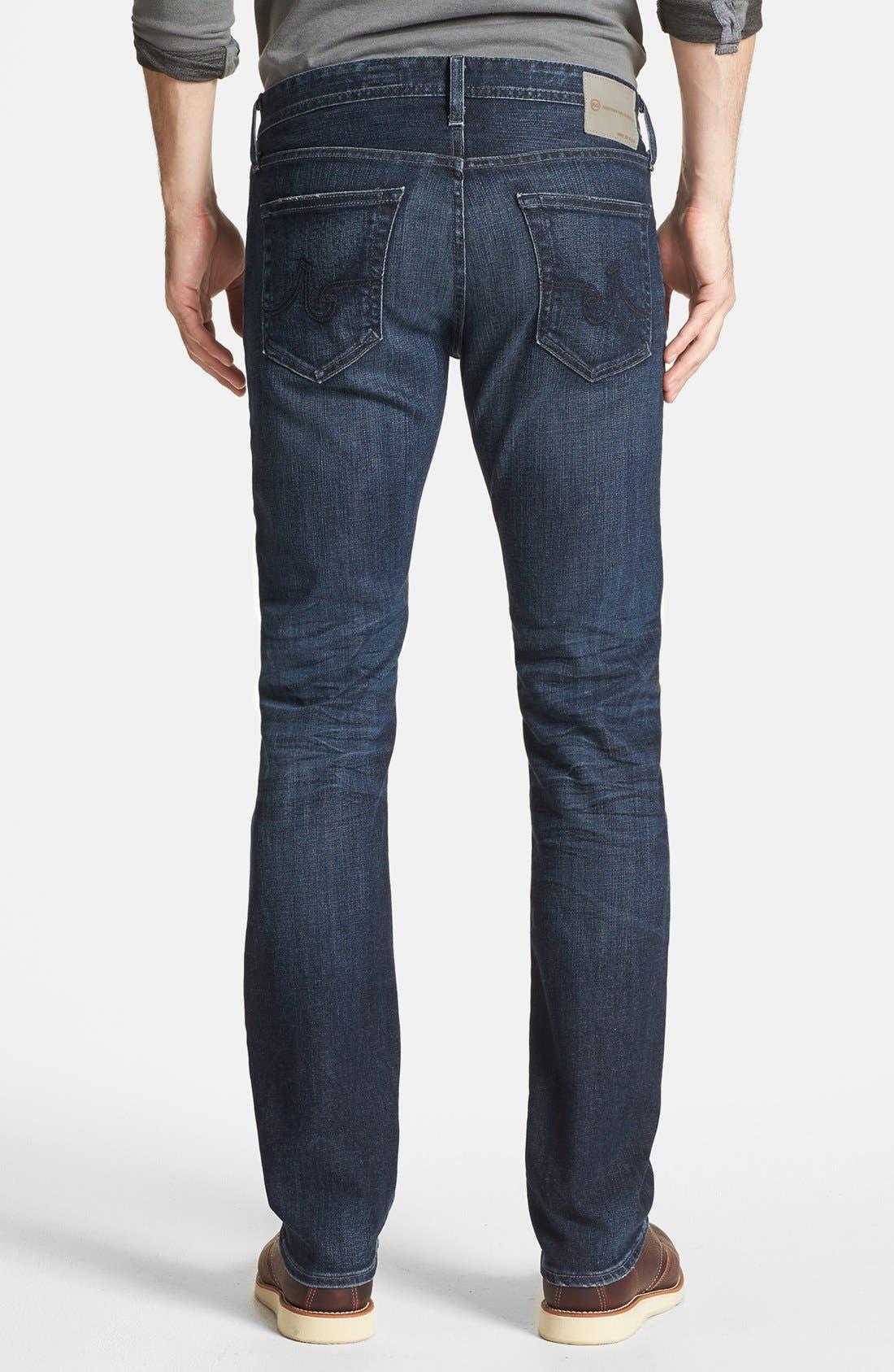 Alternate Image 2  - AG 'Matchbox' Slim Fit Jeans (Six Years Cast)