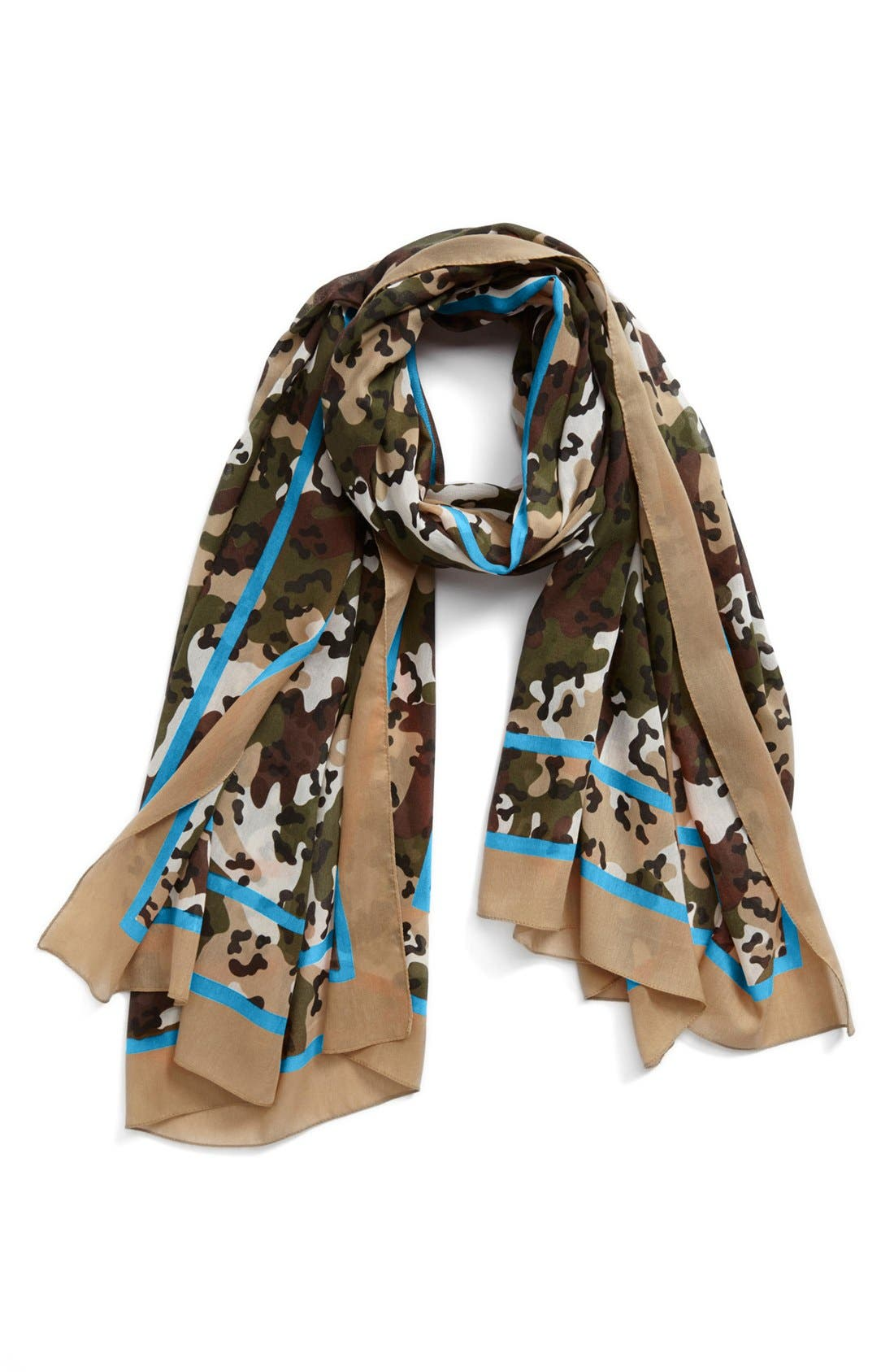 Alternate Image 1 Selected - Nordstrom Camo Print Scarf
