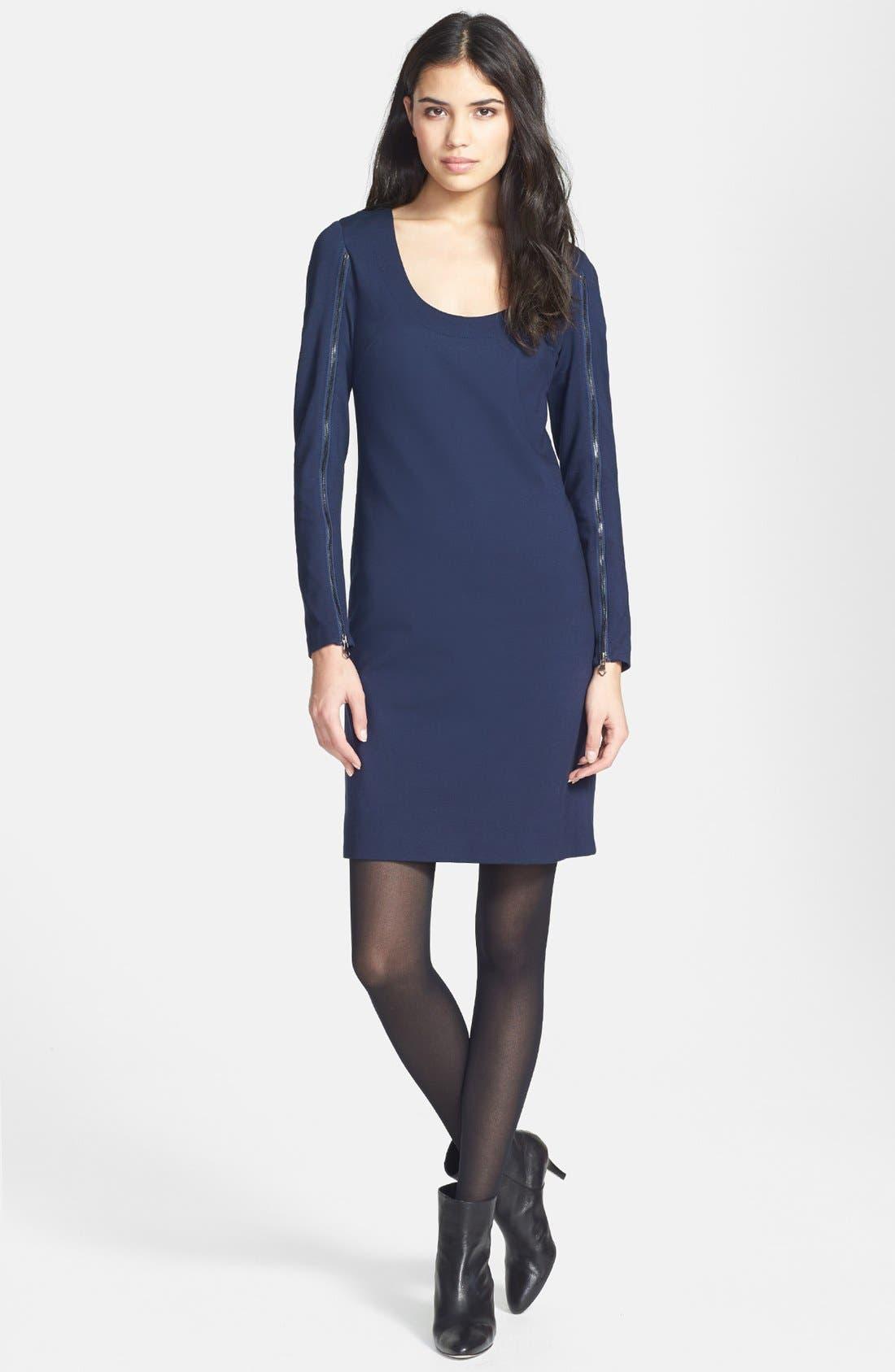 Alternate Image 1 Selected - Trina Turk 'Camilla' Ponte Sheath Dress