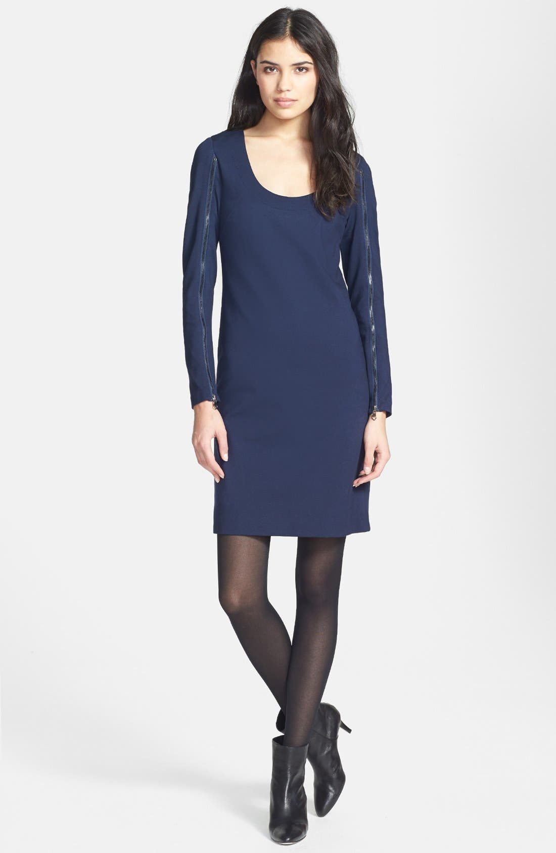 Main Image - Trina Turk 'Camilla' Ponte Sheath Dress