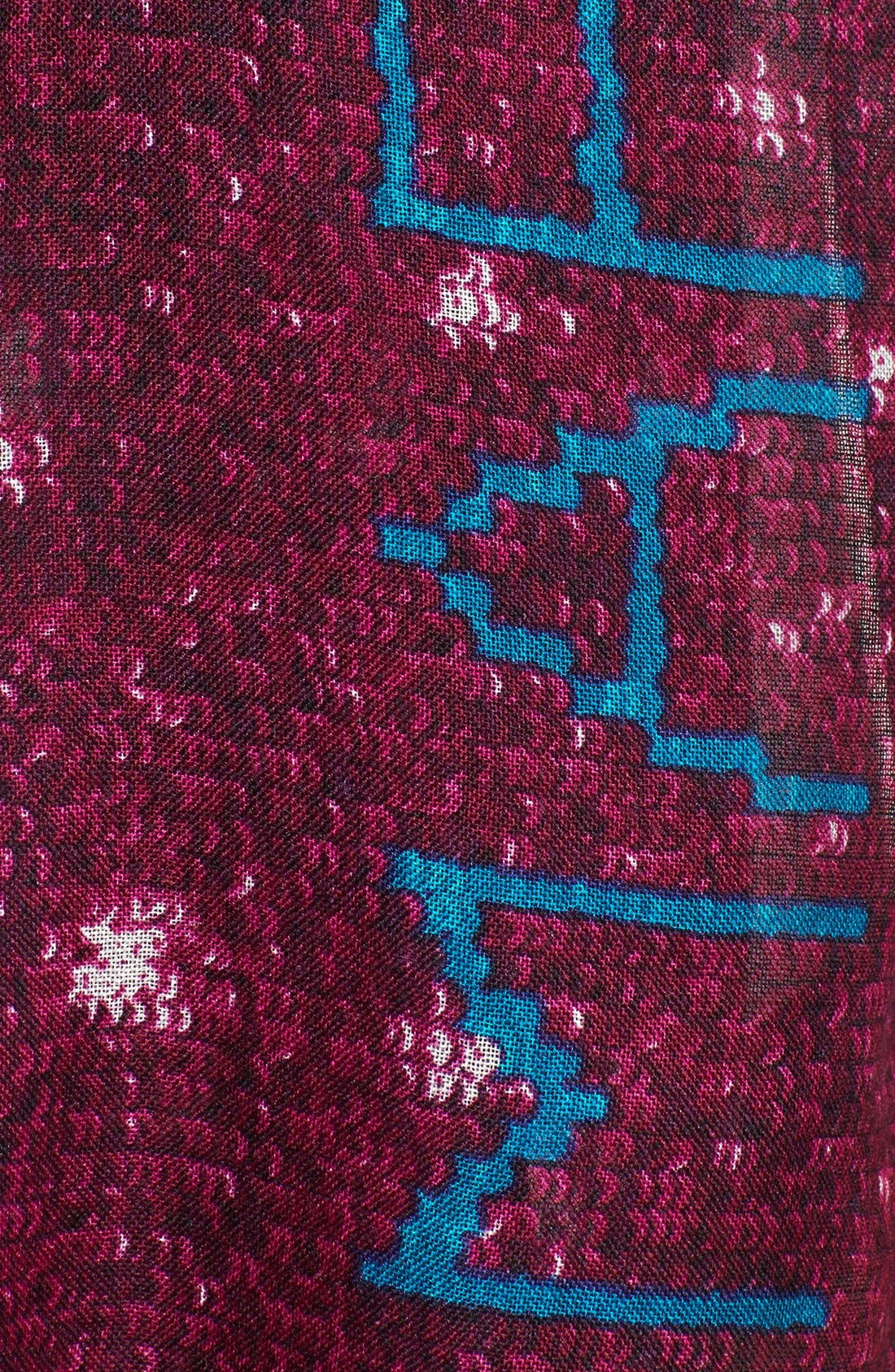 Alternate Image 2  - MARC BY MARC JACOBS Sequin Print Wool & Silk Scarf